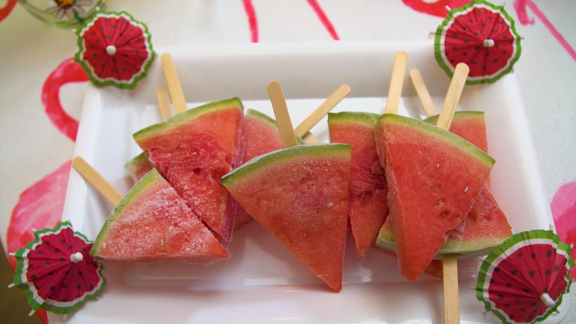 Watermelon margarita popsicles — plus 4 other summer cocktail hacks