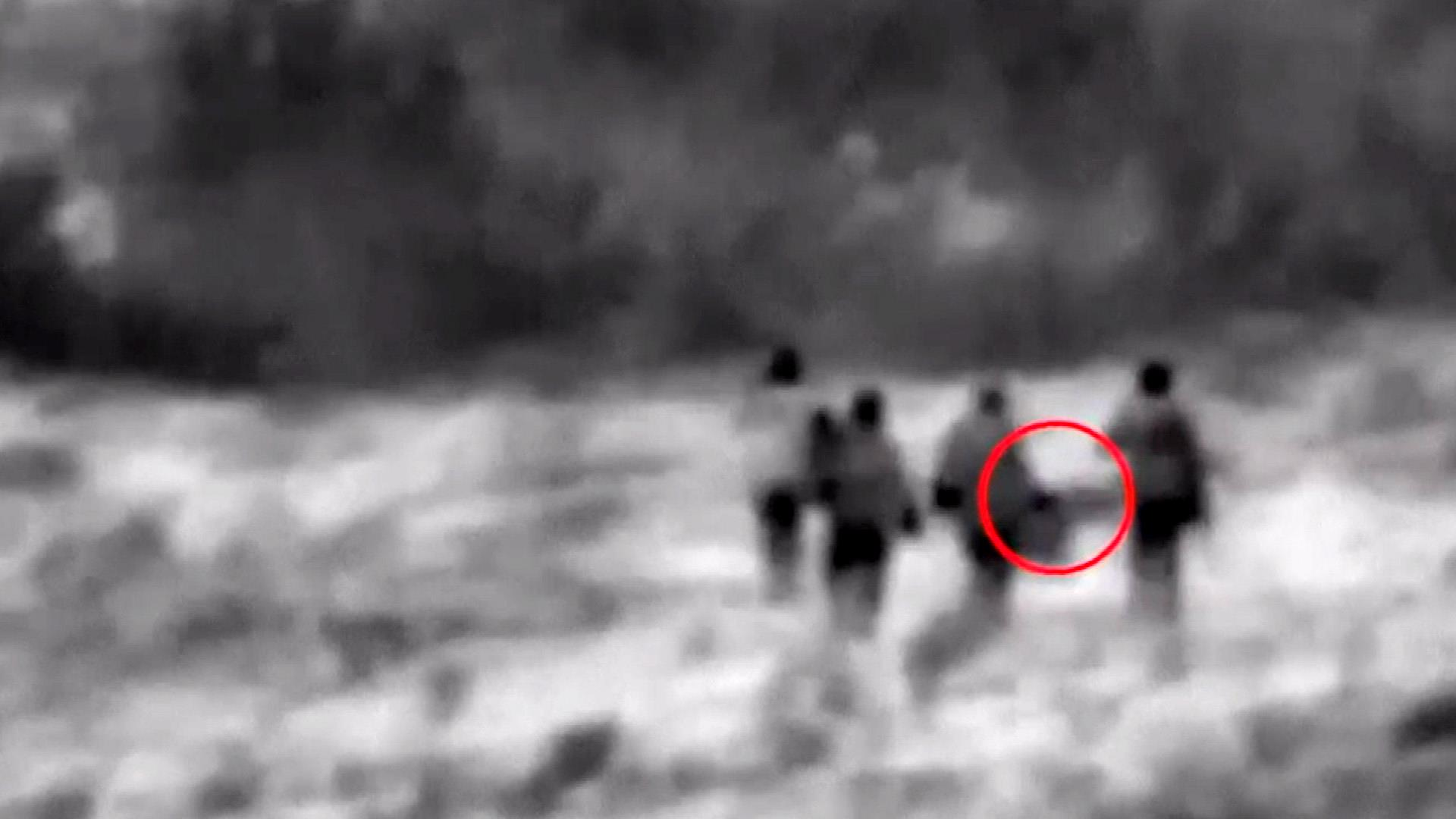 Israeli military video purports to show drone carried by Iranian forces in Syria