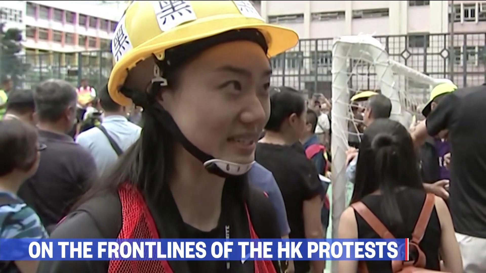 As Hong Kong protests turn violent, one man fights to preserve middle ground