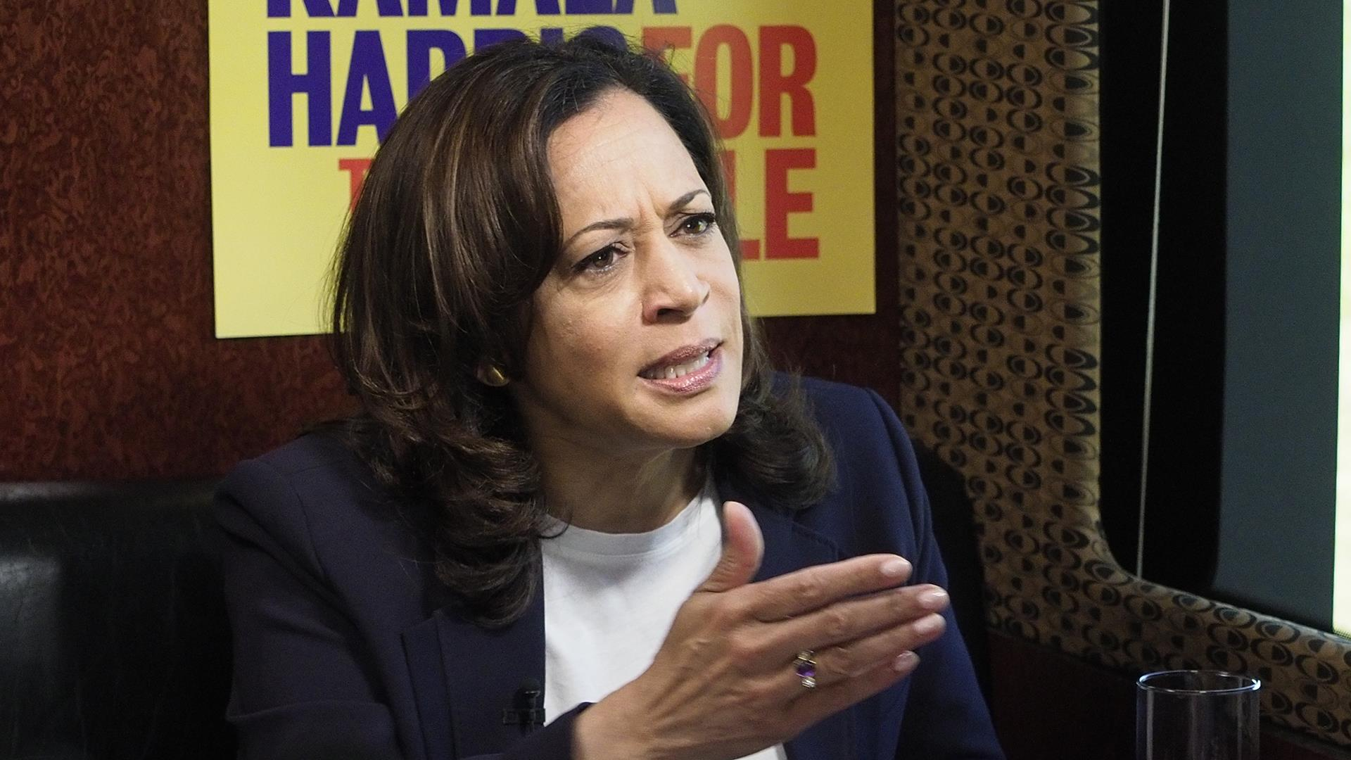 Harris: Wouldn't be 'authentic' for Trump to reassure Hispanics after El Paso