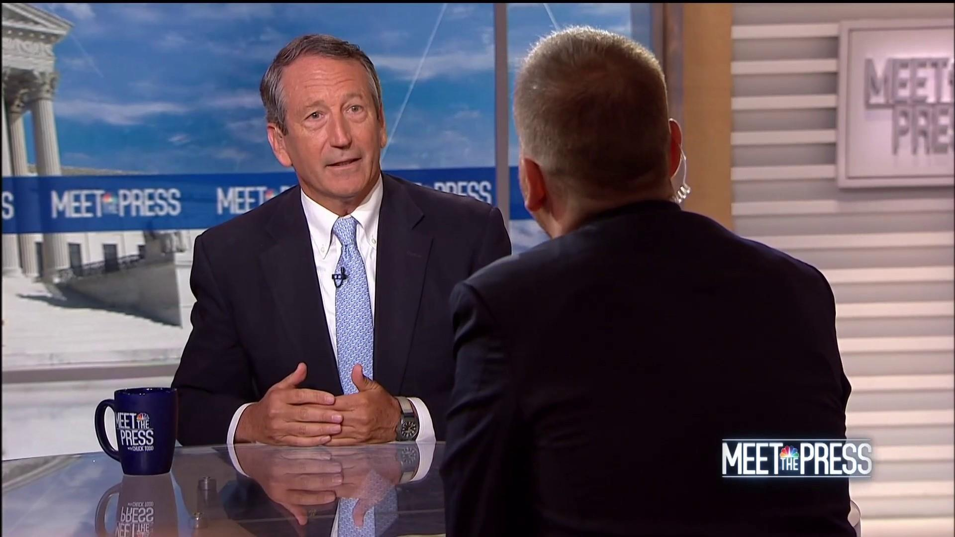 Sanford: Challenging Trump 'hardly a vanity project'