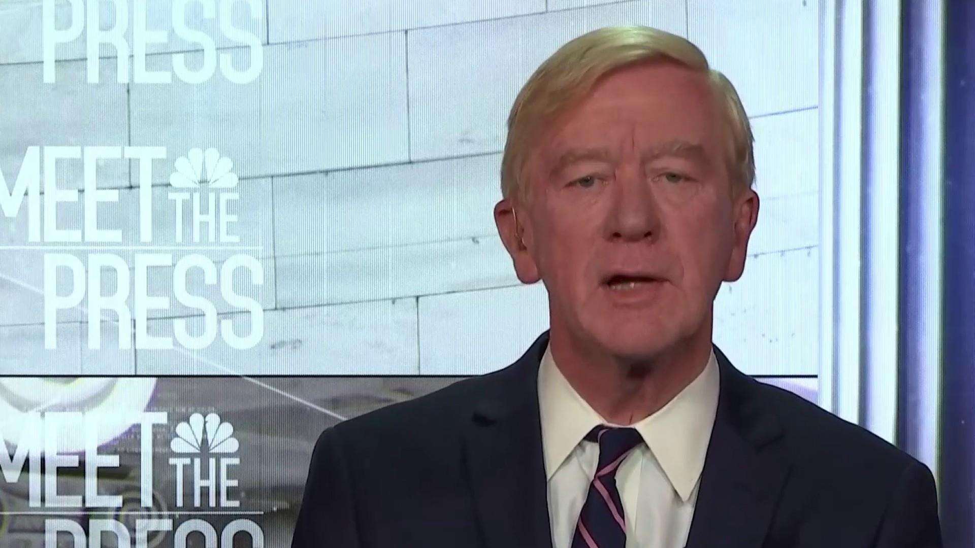 Weld: 'Thrilled' about new GOP challengers to President Trump