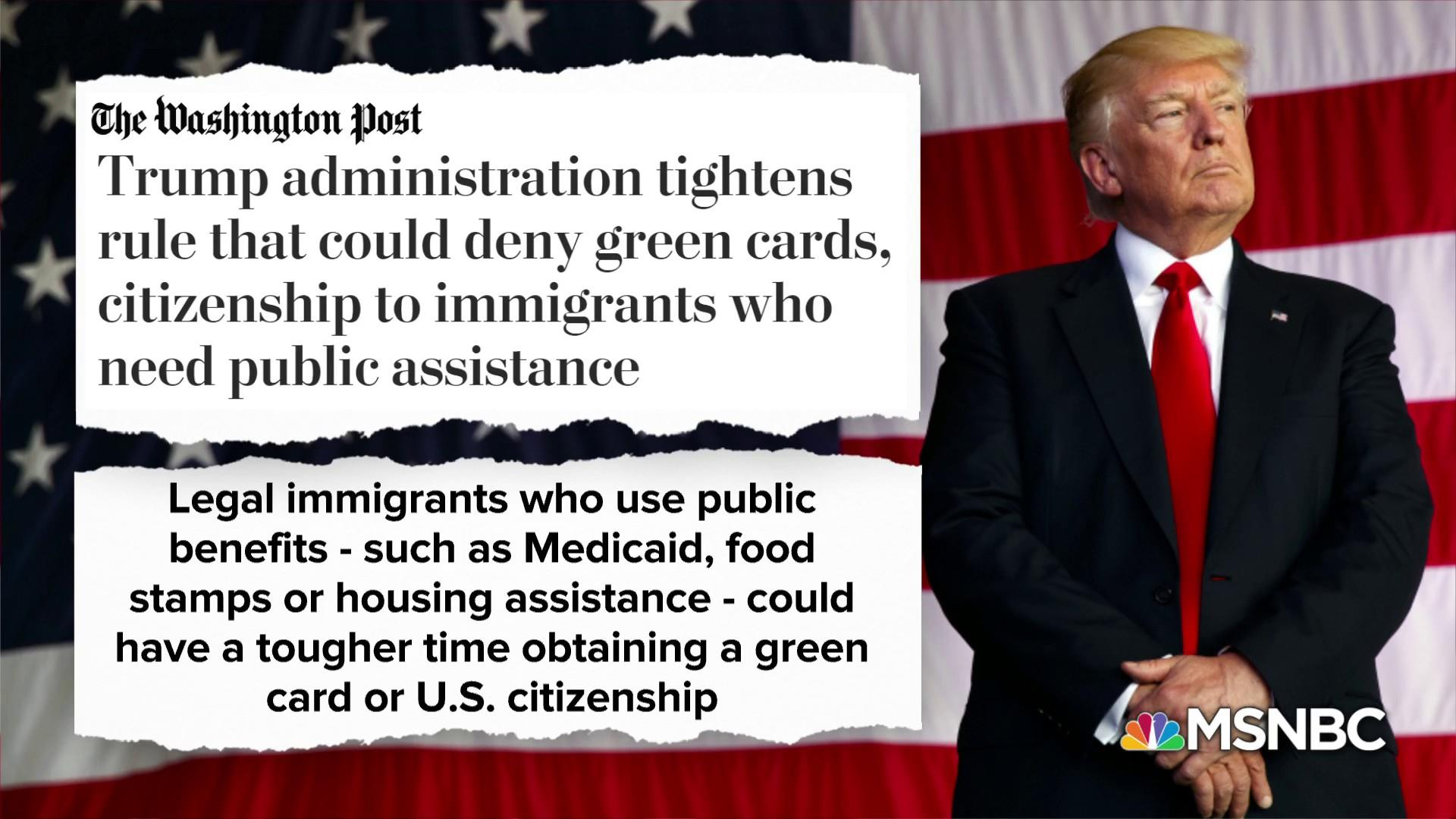 Heartless?: New Trump rule targets poor immigrants