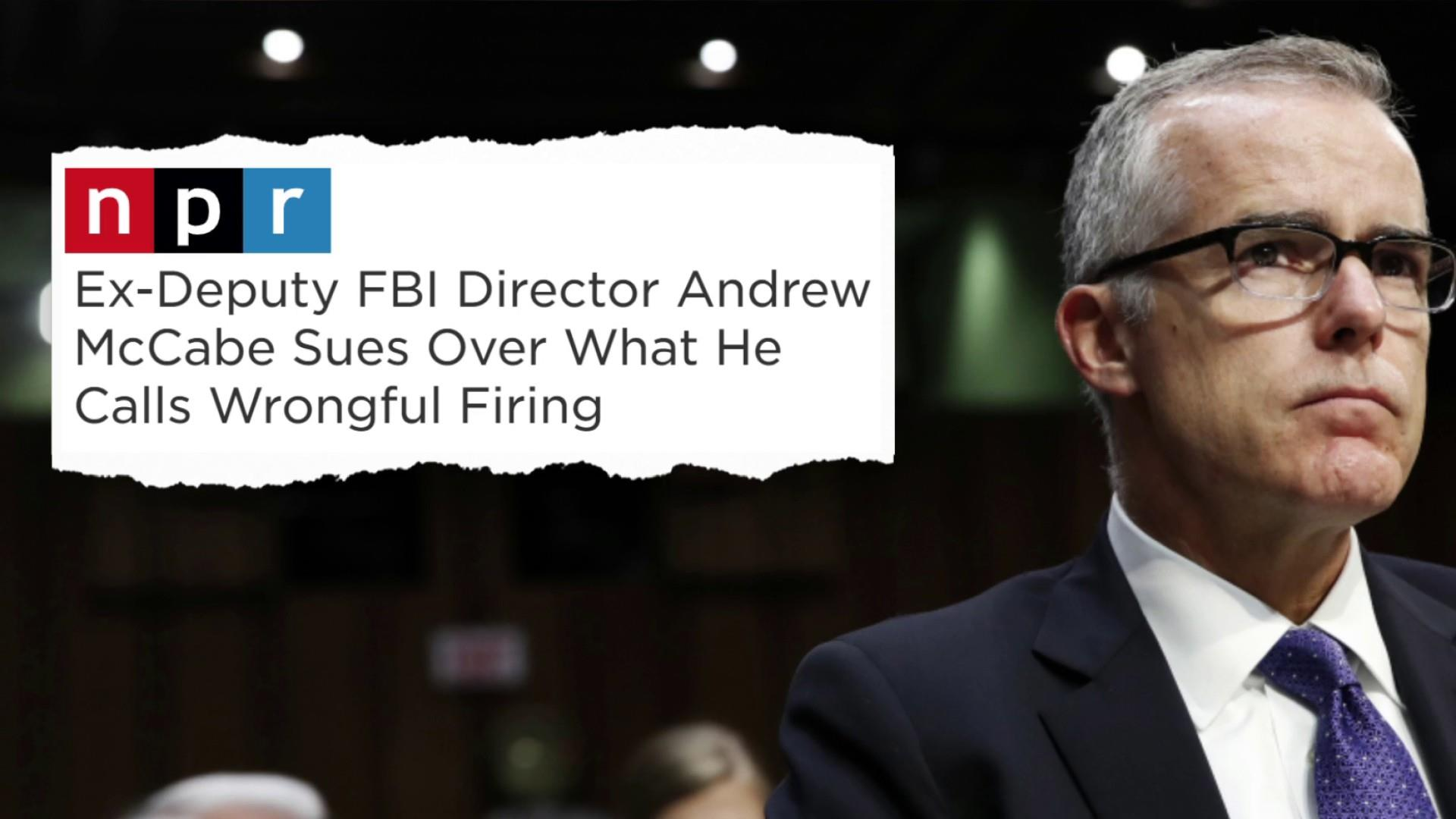 Fmr FBI official sues Trump for 'unlawful, unconstitutional' acts