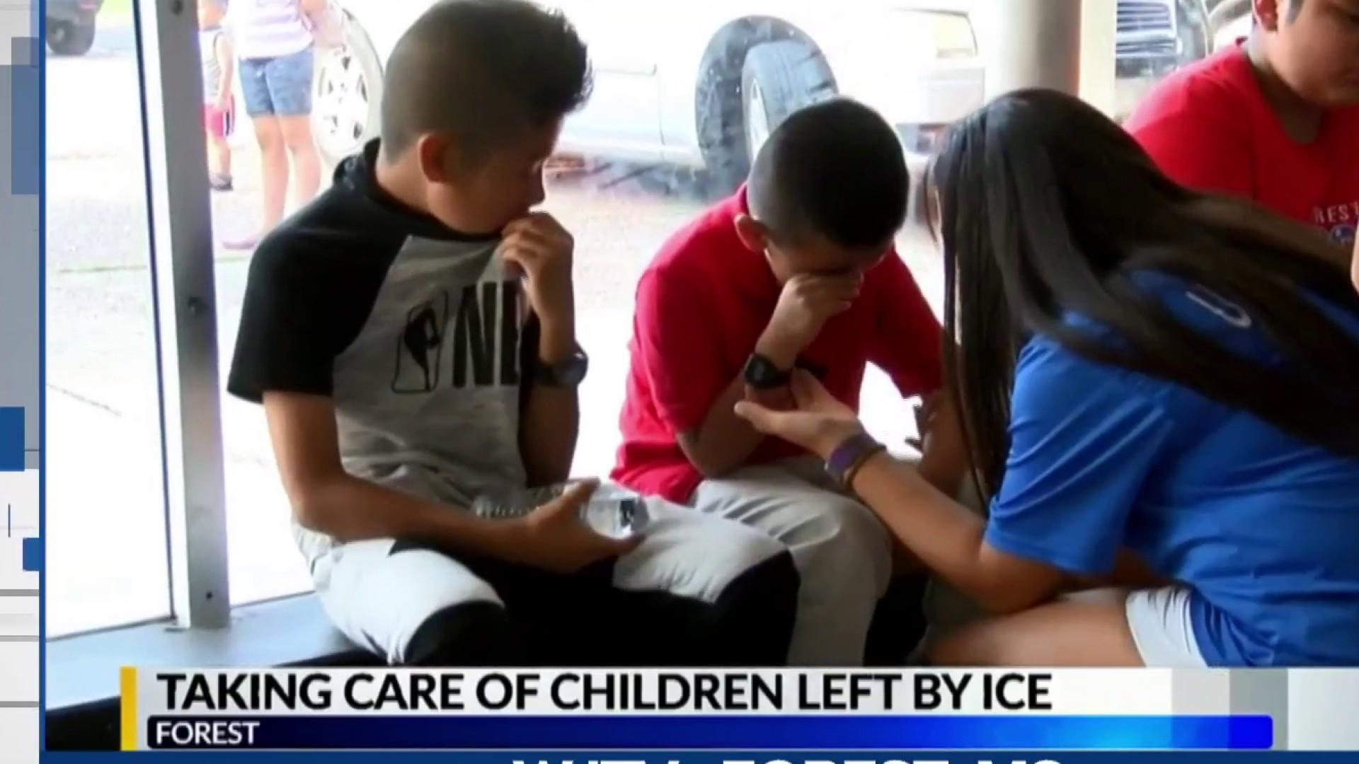 ICE raid leaves kids pleading for their parents' freedom