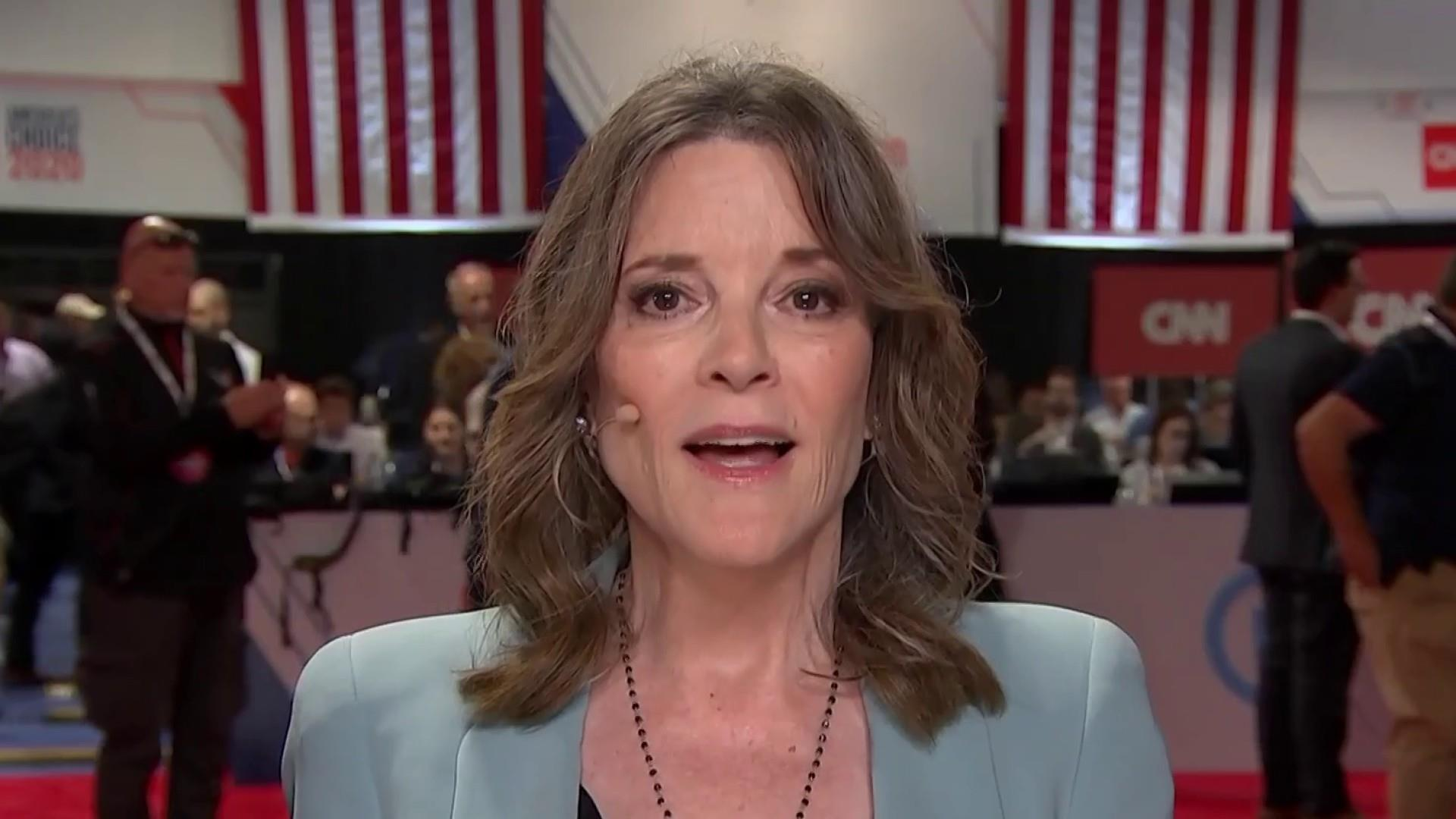 Marianne Williamson apologizes for calling depression 'a scam'