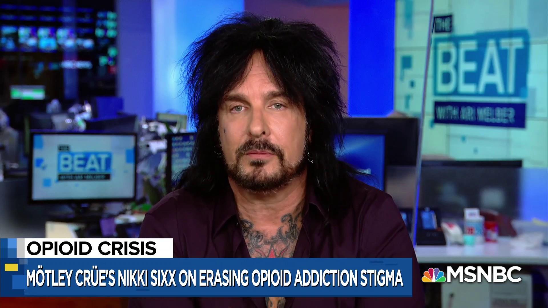 Nikki Sixx: we must work to end stigma of opioid addiction