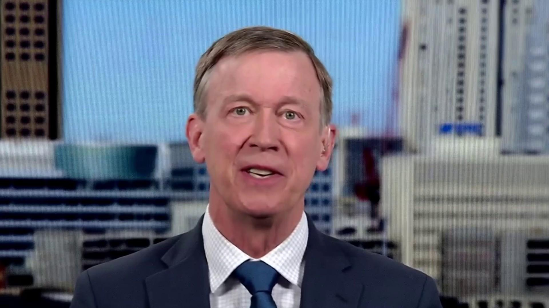 Fmr. Gov. Hickenlooper: Trump sowing 'division' on gun issues, tariffs