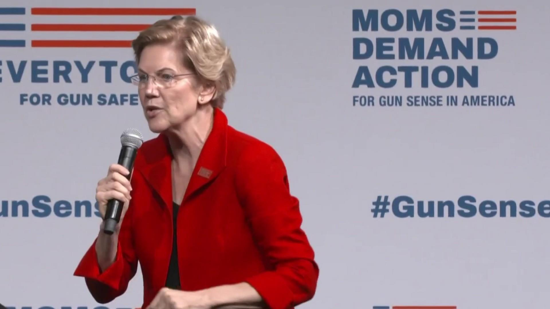 Democratic candidates show unity on gun control in wake of shootings