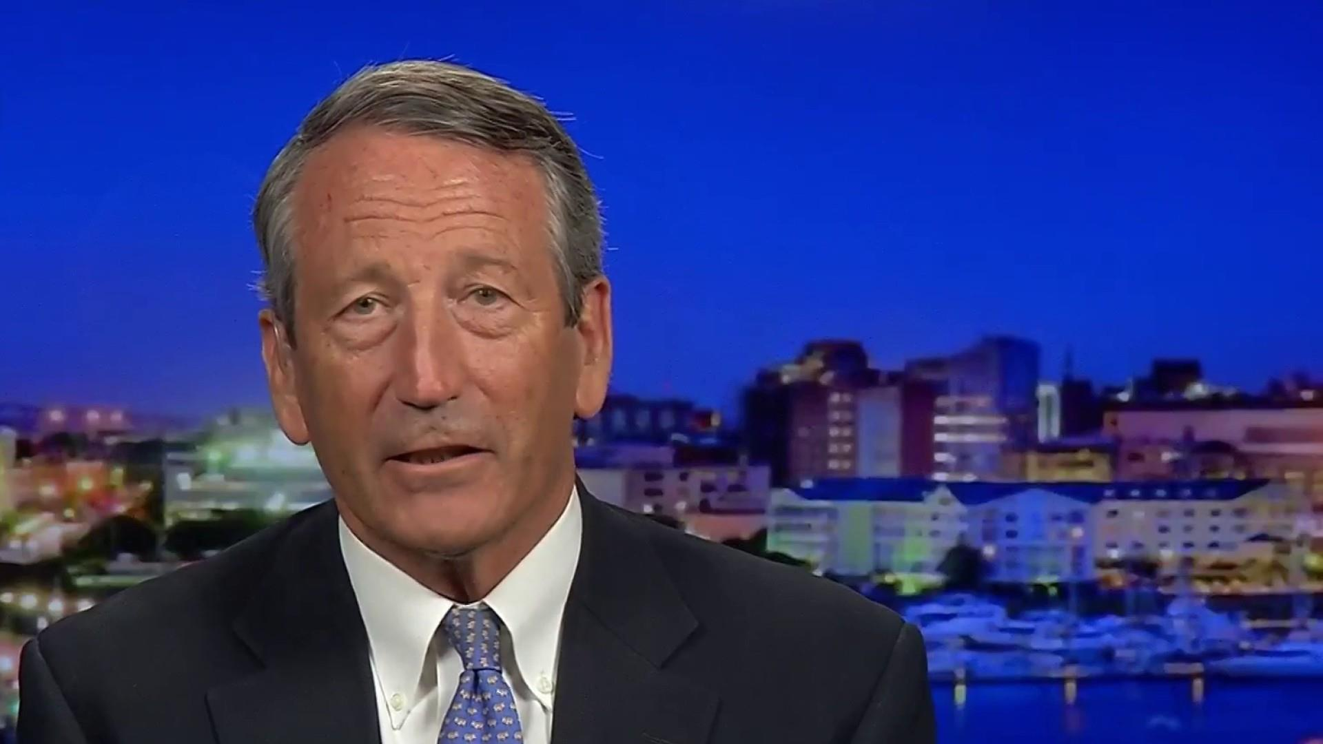 Possible Trump challenger Mark Sanford would vote for Trump over Biden