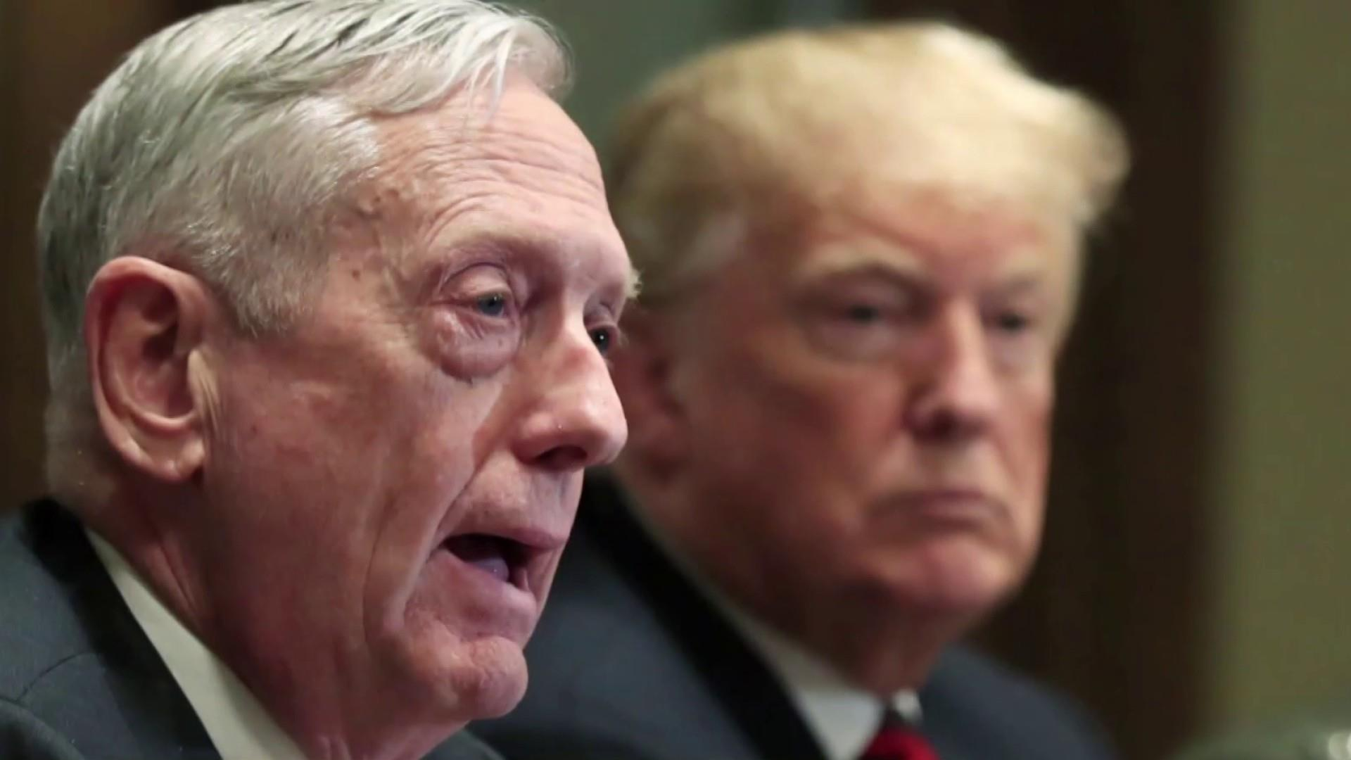 Atlantic: Mattis found Trump to be of 'limited cognitive ability, dubious behavior'