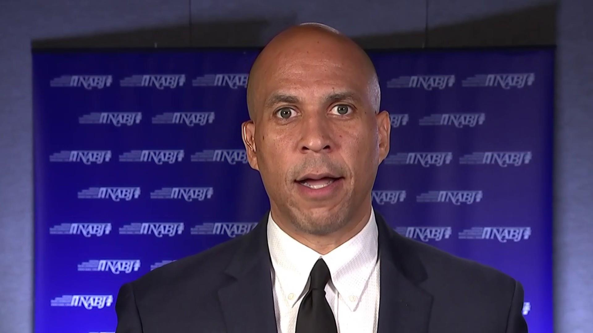 Booker: 'If there's injustice in this country, it's a threat to all of us.'