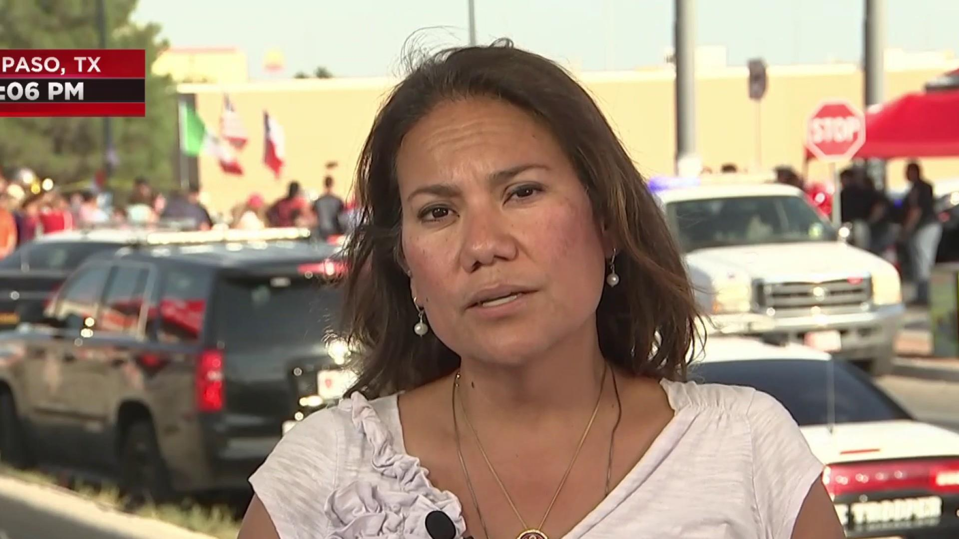 El Paso victims on Trump: 'Tell him not to come here'