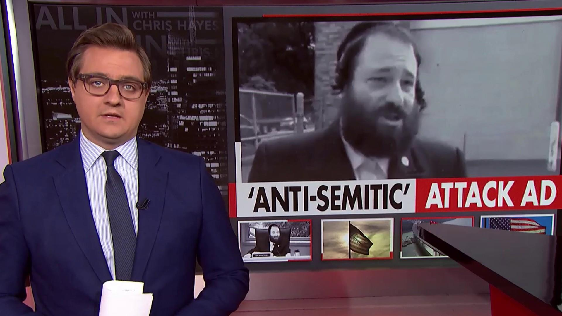 Chris Hayes examines the ubiquity of anti-semitism in America
