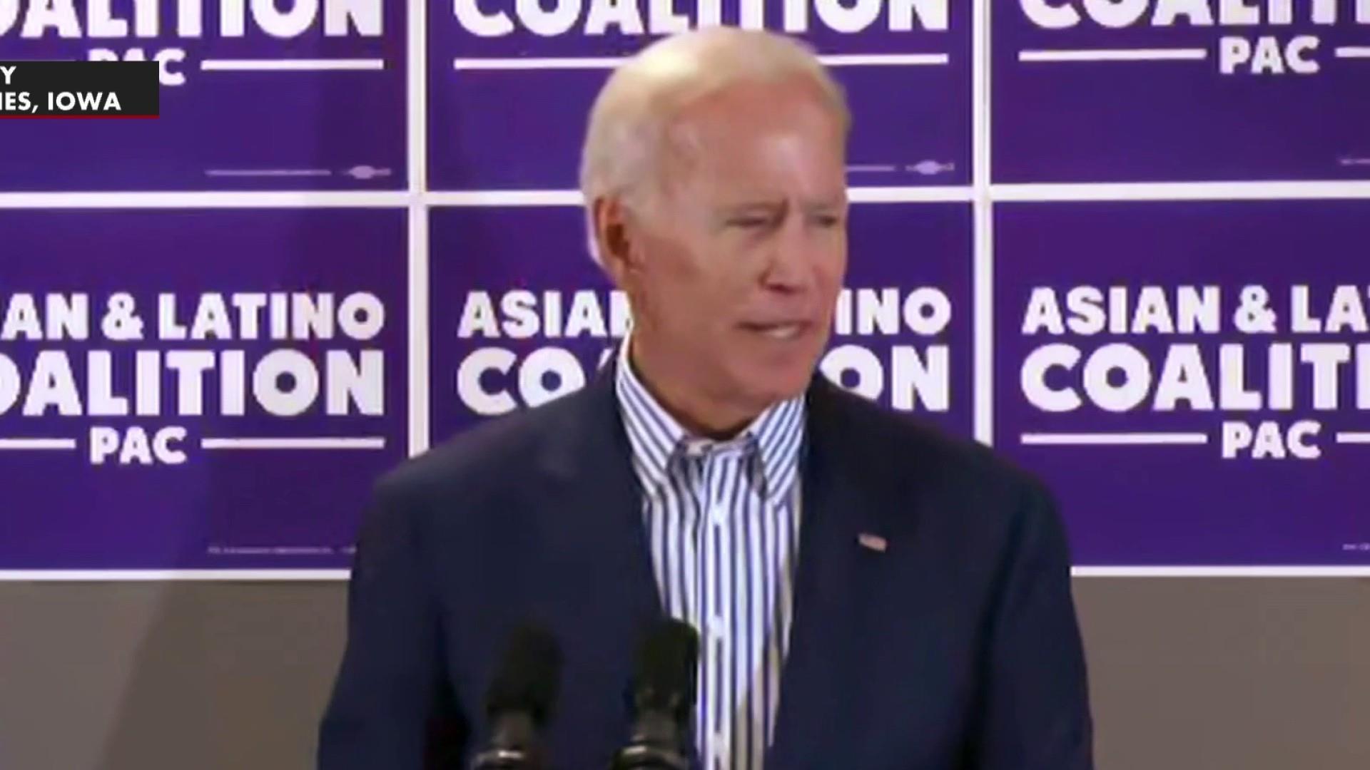 Putting Biden's gaffes into Trumpian perspective