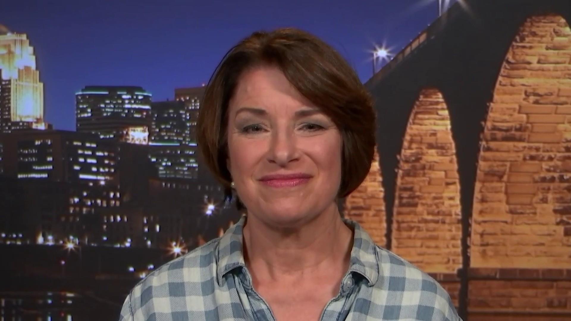 Sen. Klobuchar on her new gun-safety proposal