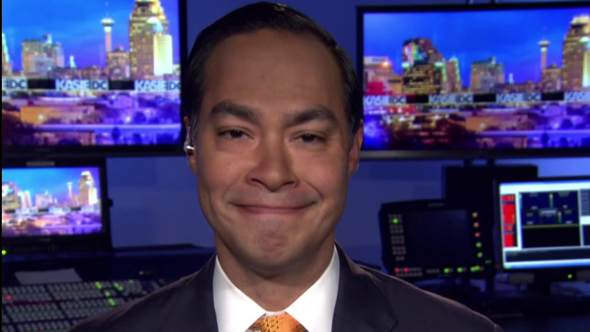 Julián Castro: 'I'm very proud of my brother' for calling out Trump donors