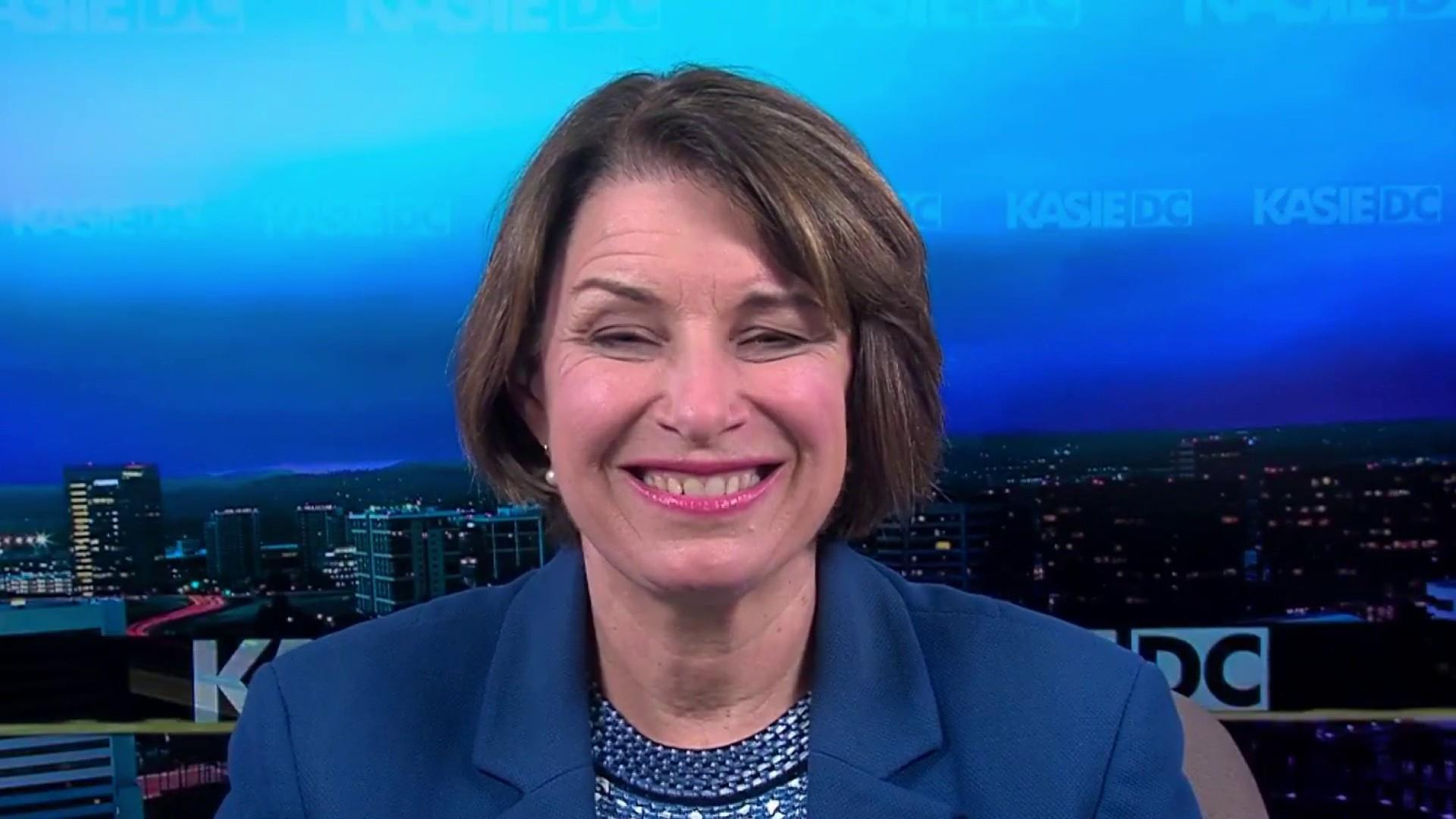 Sen. Klobuchar: President Trump 'has fueled hate in this country'