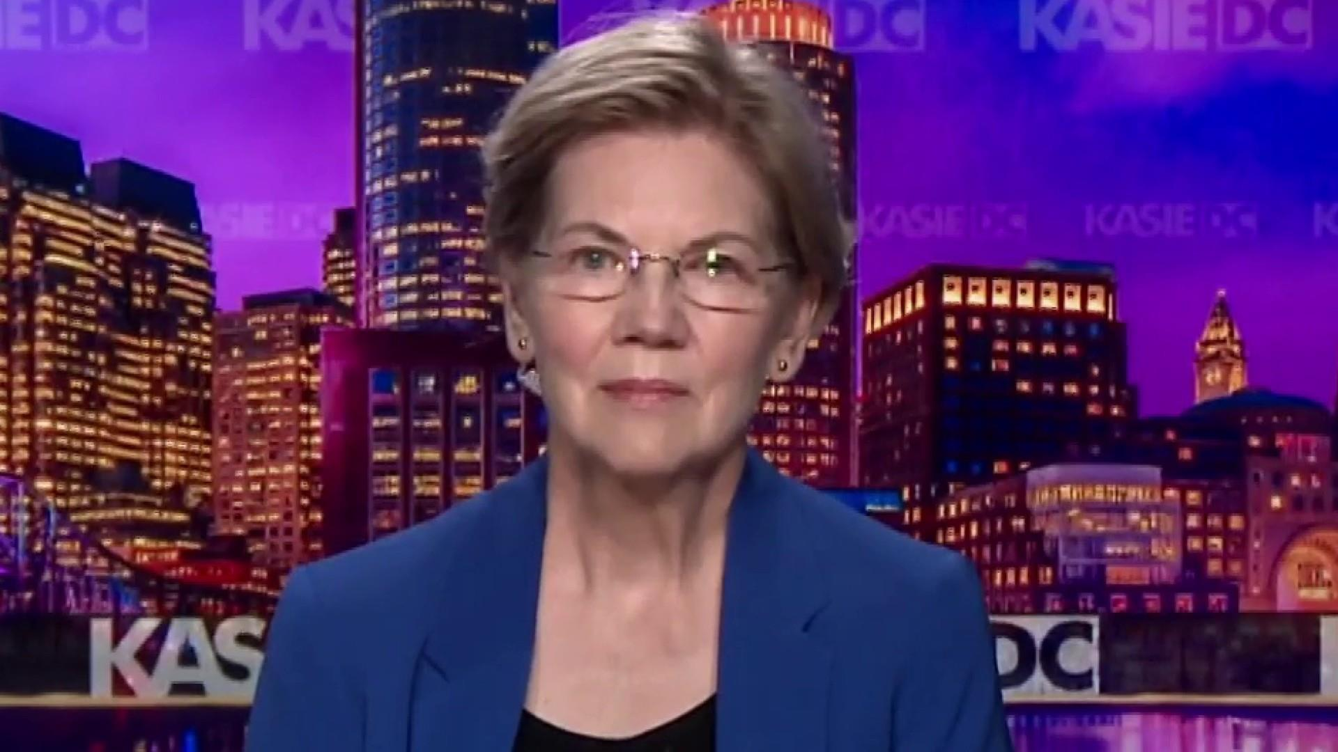 Sen. Warren: 'I will do everything I can by executive order' on gun control