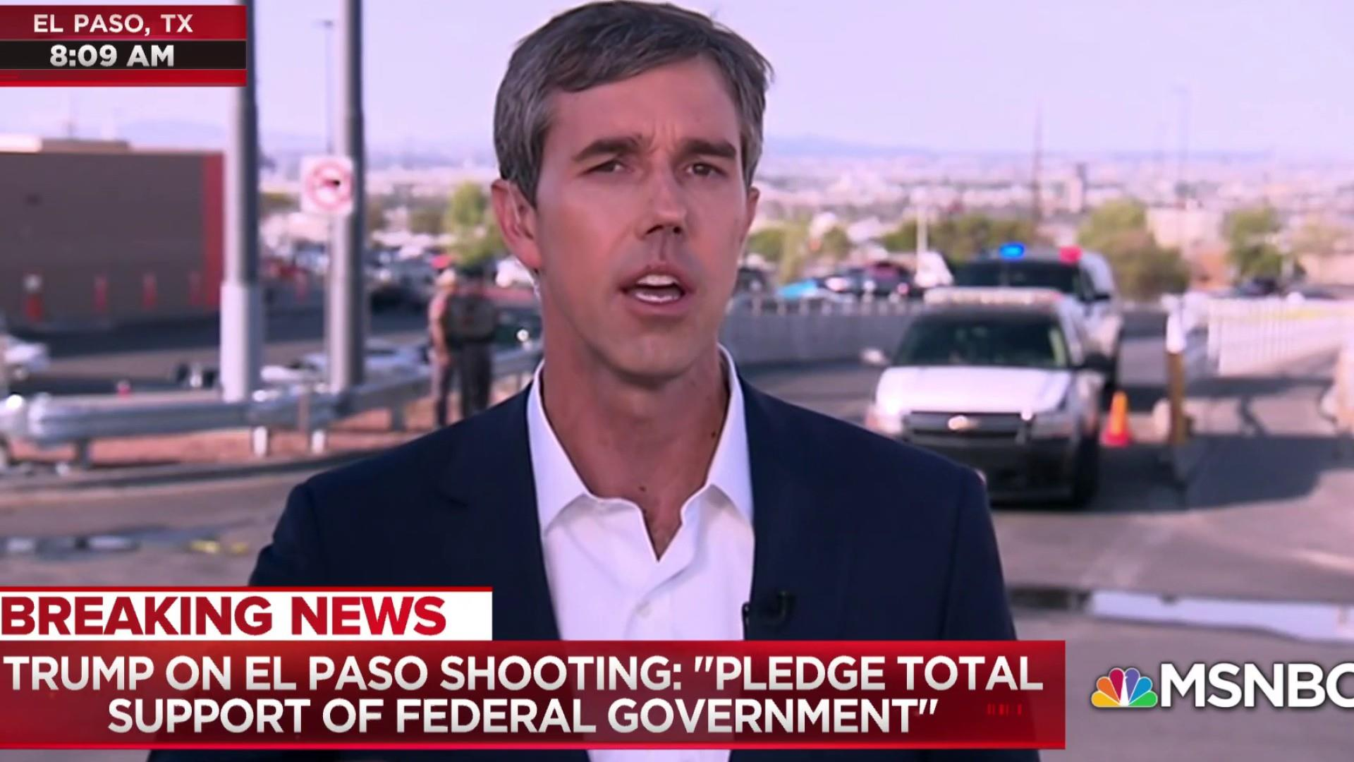 Beto O'Rourke on El Paso: We've got to be bigger than this hate