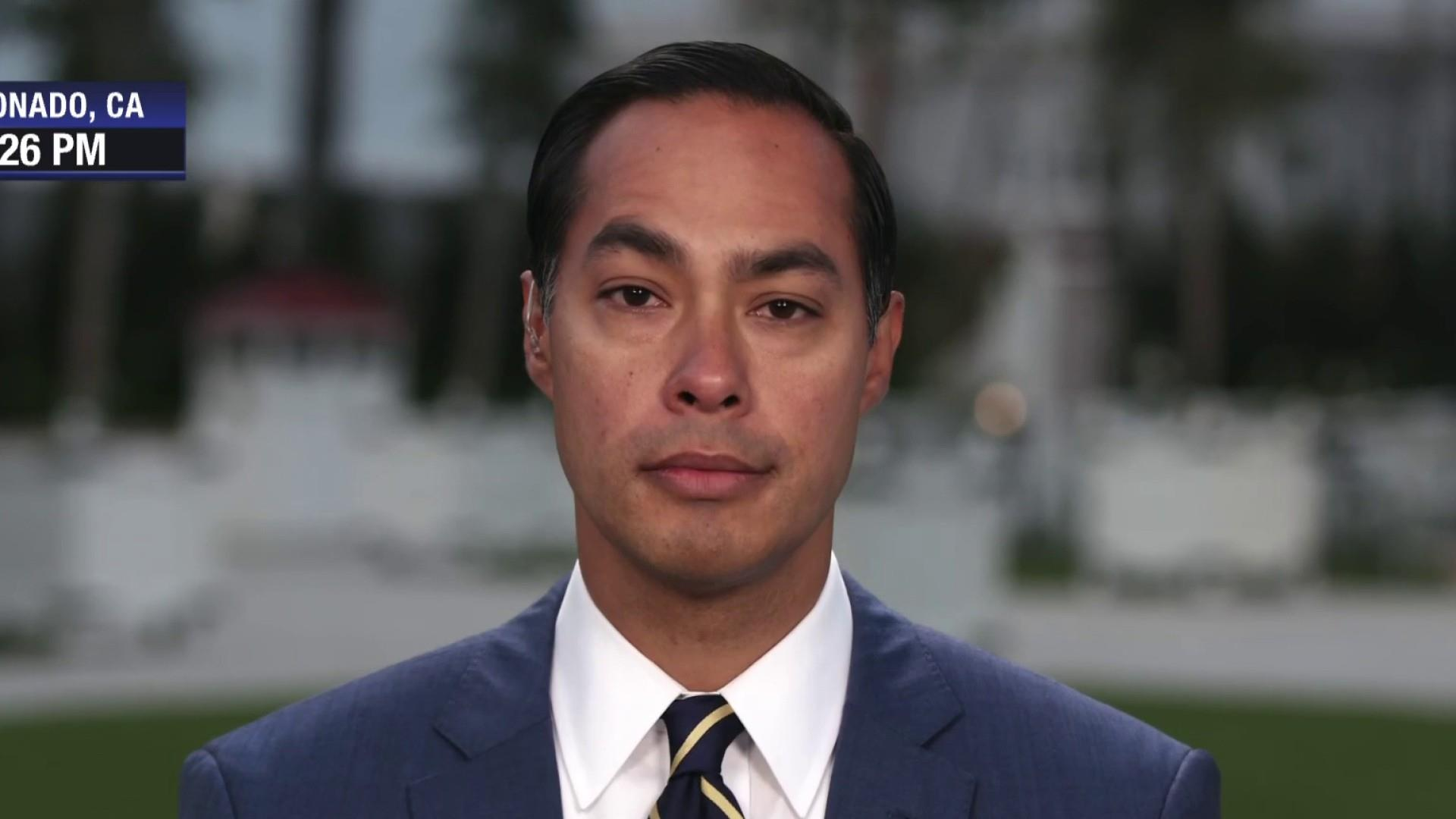 Julian Castro: the best way to channel this anger is to register people to vote