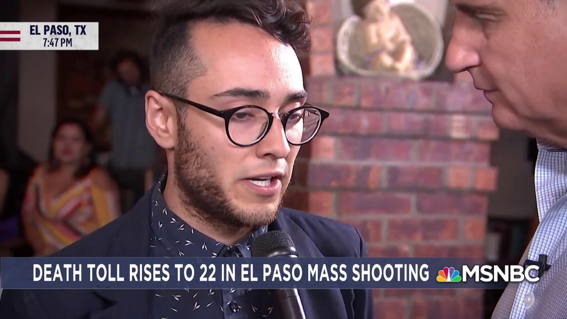 Gun massacre leaves El Paso community terrorized, angry
