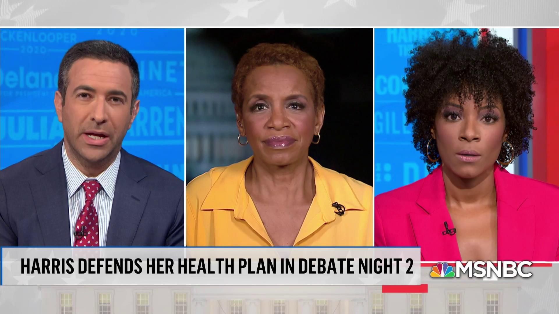 Democrats air health care plan details in second debate