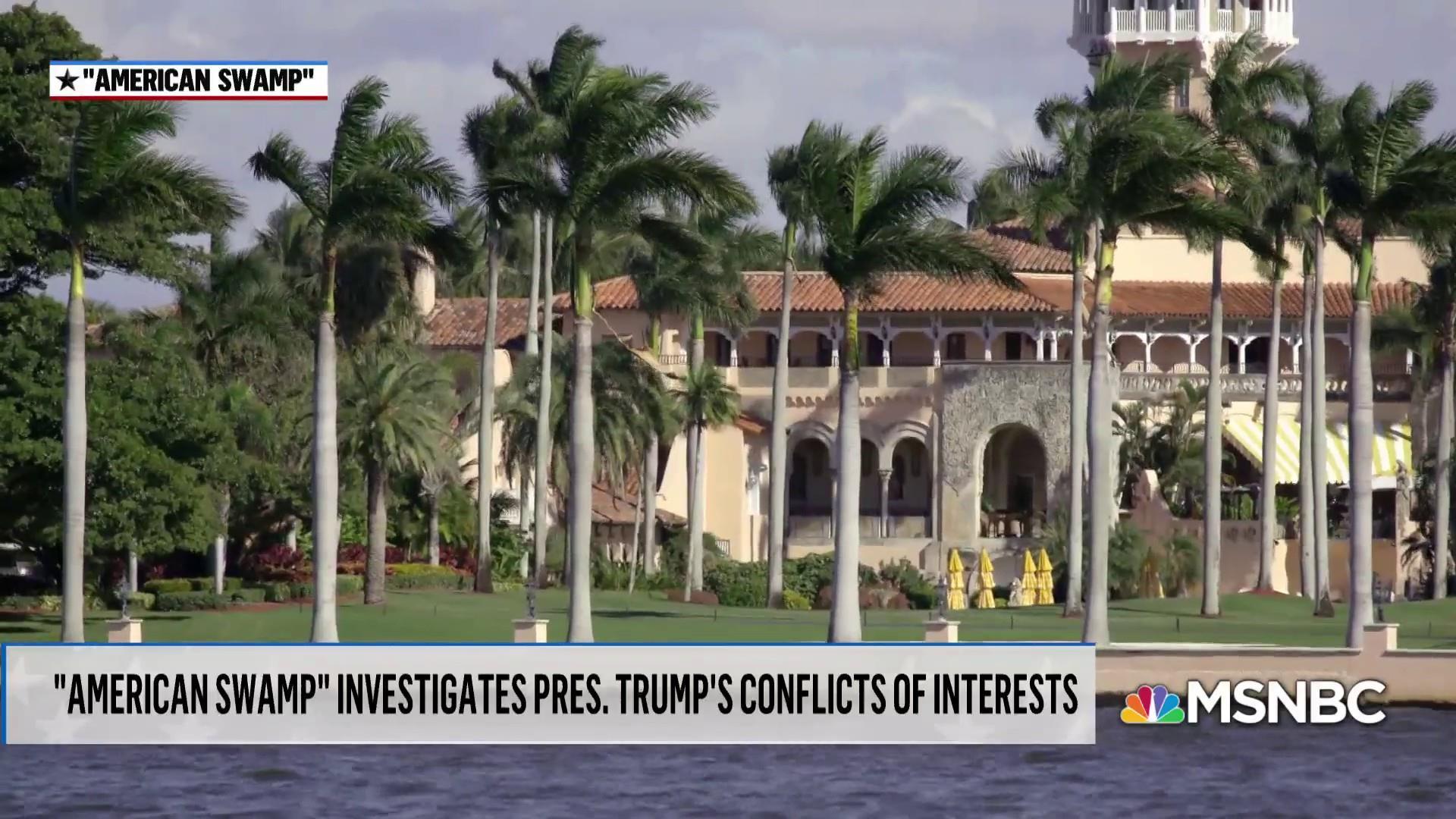 New documentary looks at how Trump exploits presidency for money