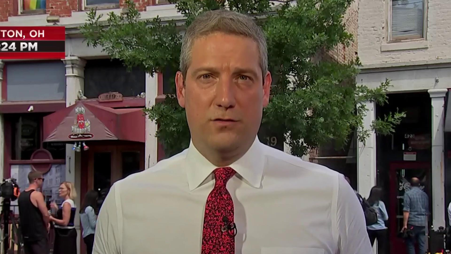 Rep. Tim Ryan: Trump's speech is 'completely disingenuous'