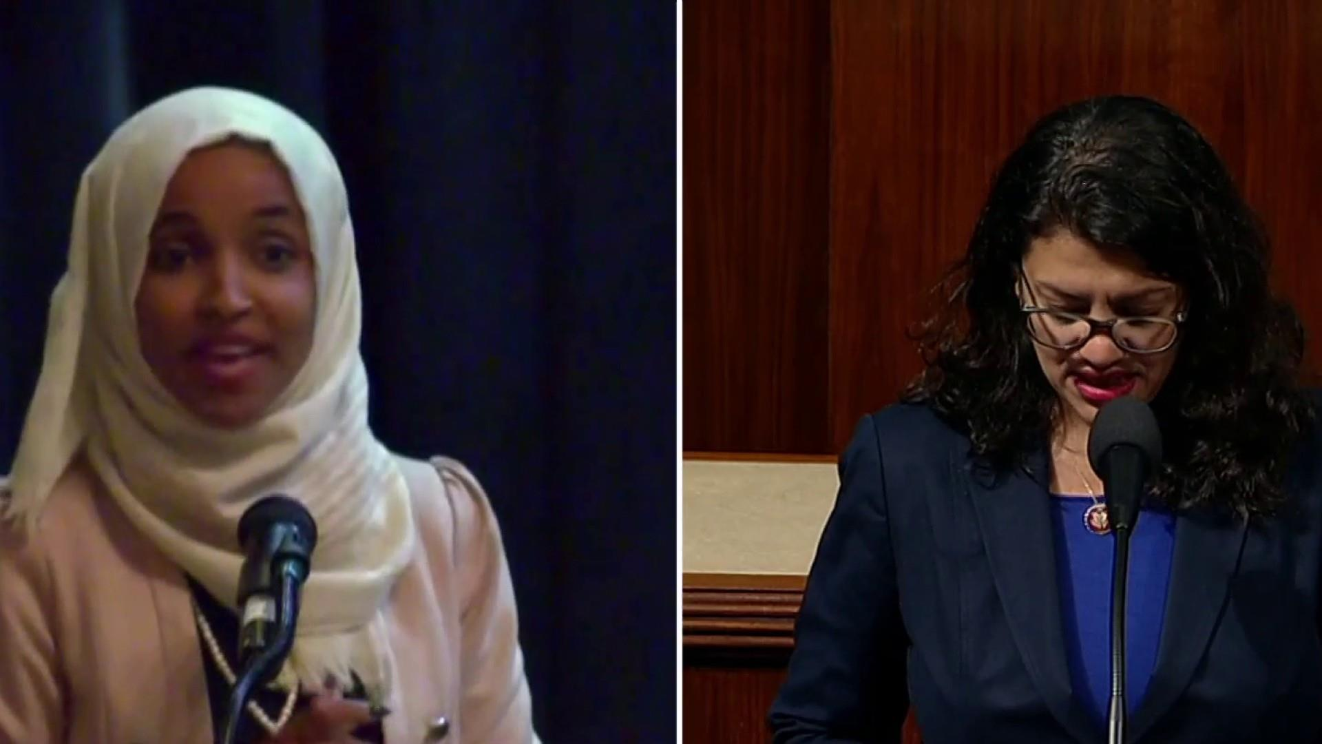 Swift criticism from lawmakers after Israel blocks Omar and Tlaib visit