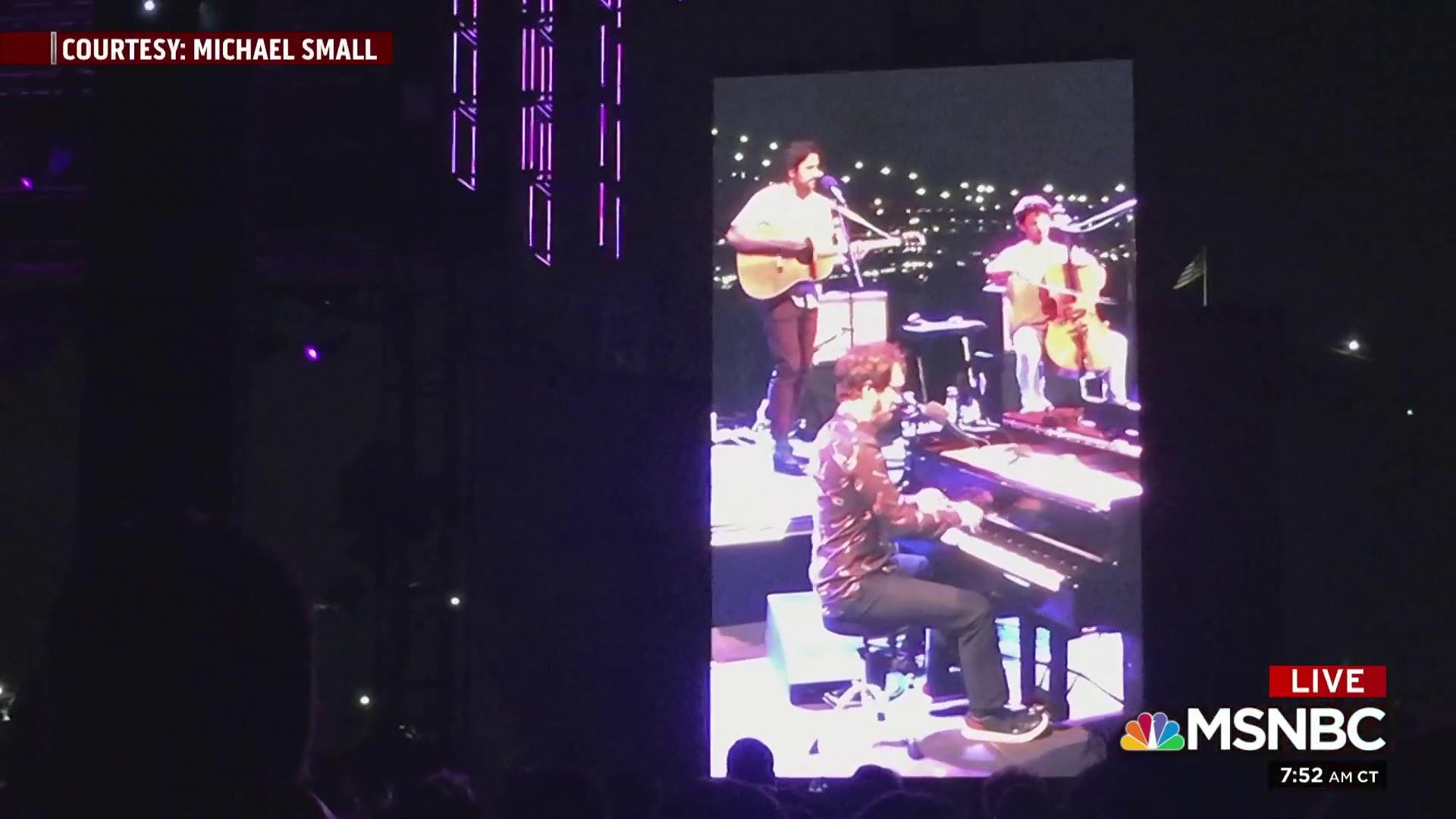 Ben Folds debuts 'Moscow Mitch' song in NYC