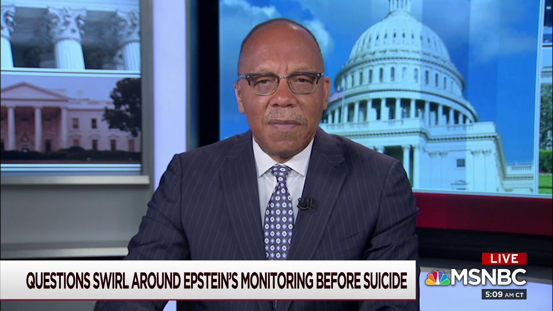 Eugene Robinson on Jeffrey Epstein: It's a 'tragic example of the kind of rot' in the government