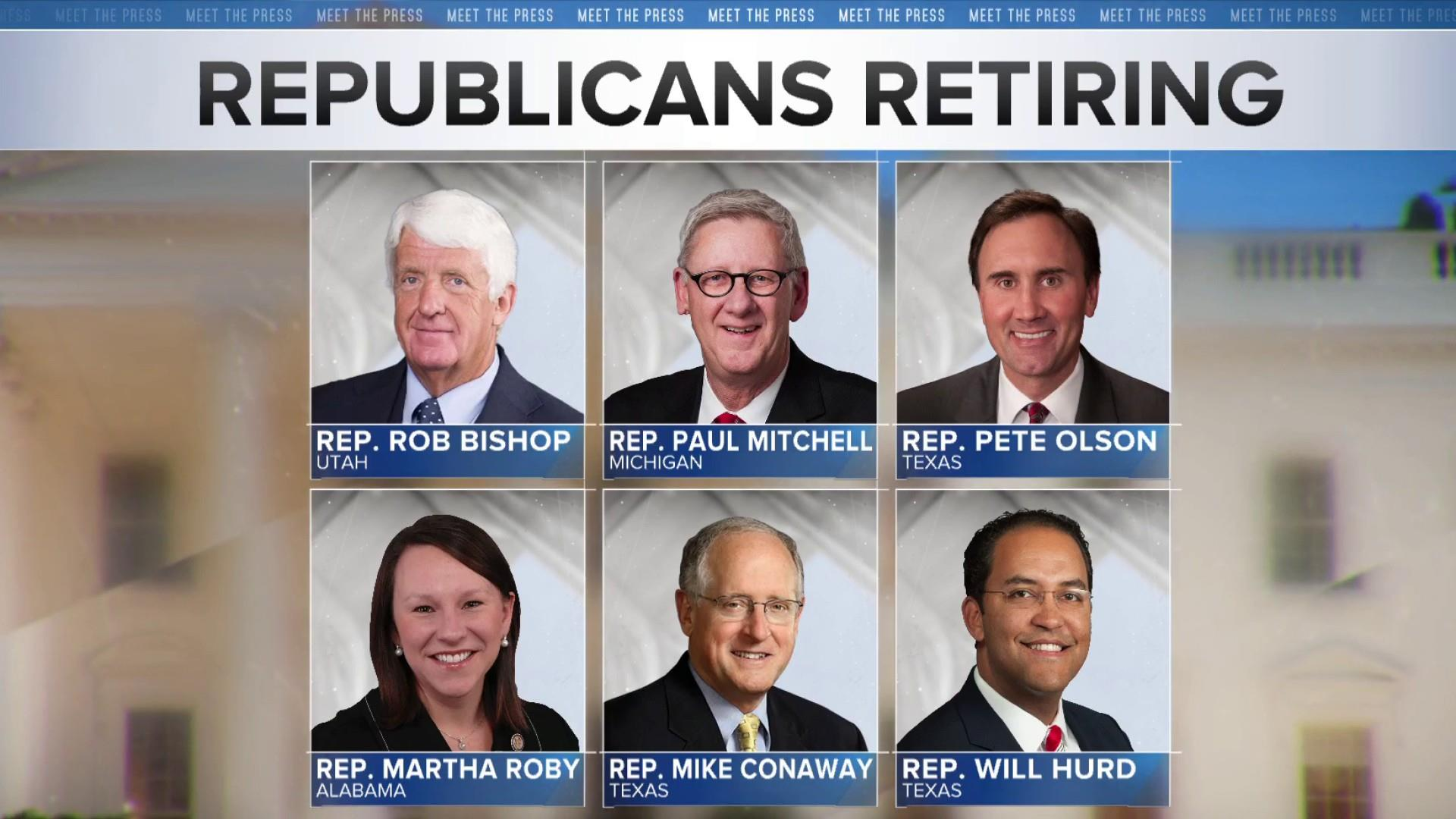Rep. Will Hurd's retirement announcement becomes si​xth GOP exit in two weeks