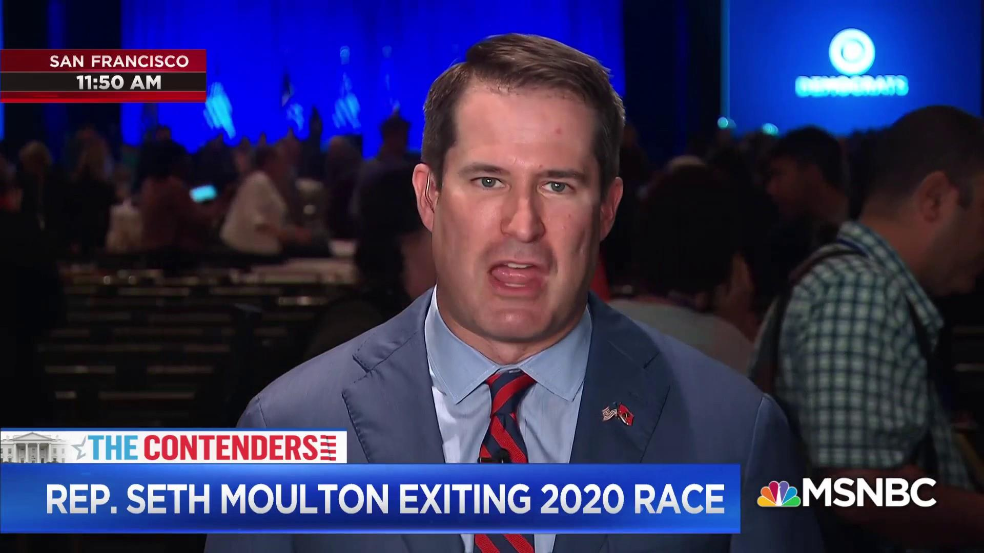 Rep. Moulton discusses his decision to drop out of the 2020 race