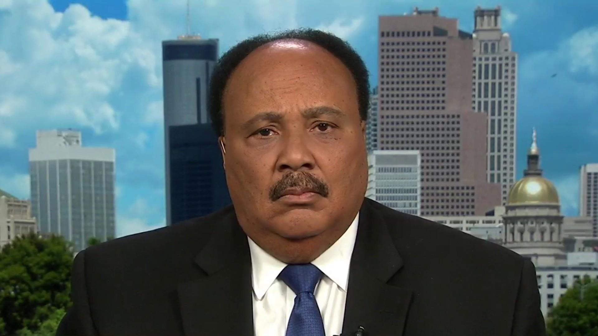 Martin Luther King III: 'Is this the America I want to live in?'