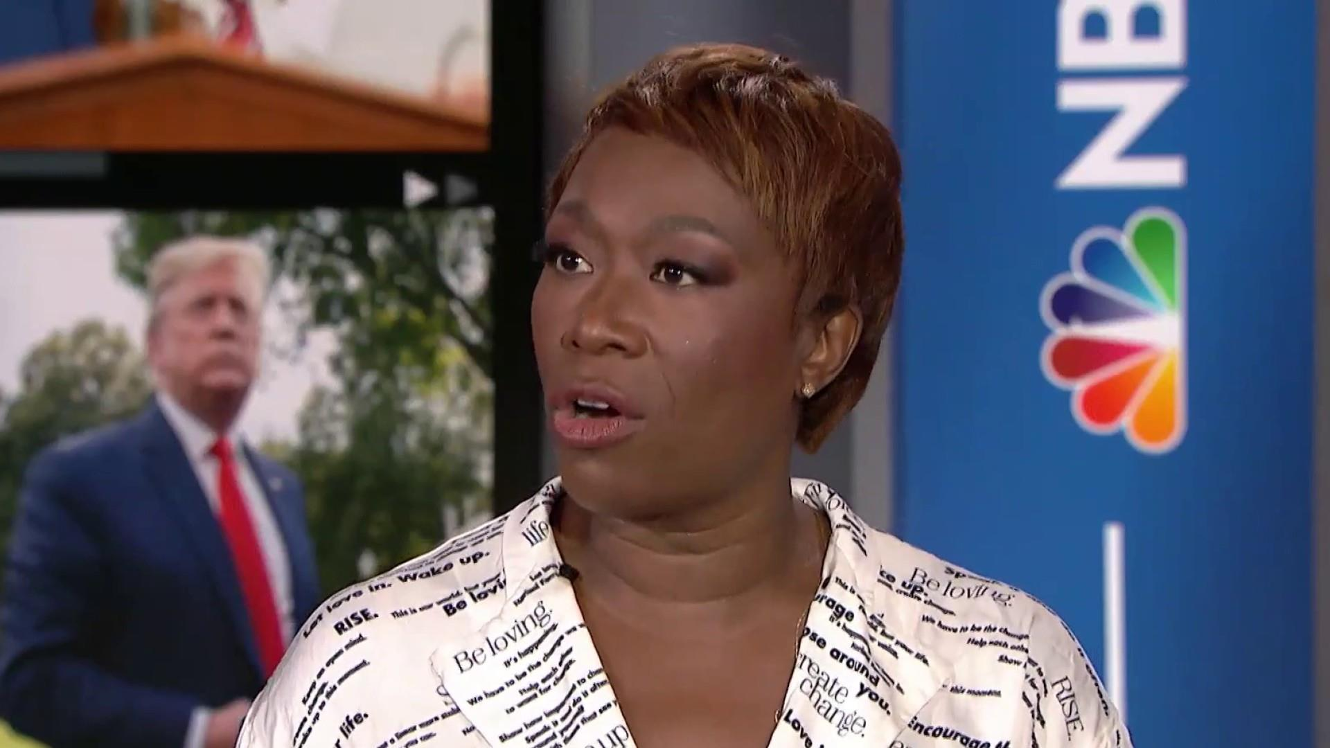 Joy Reid on Trump: He's the President of red America
