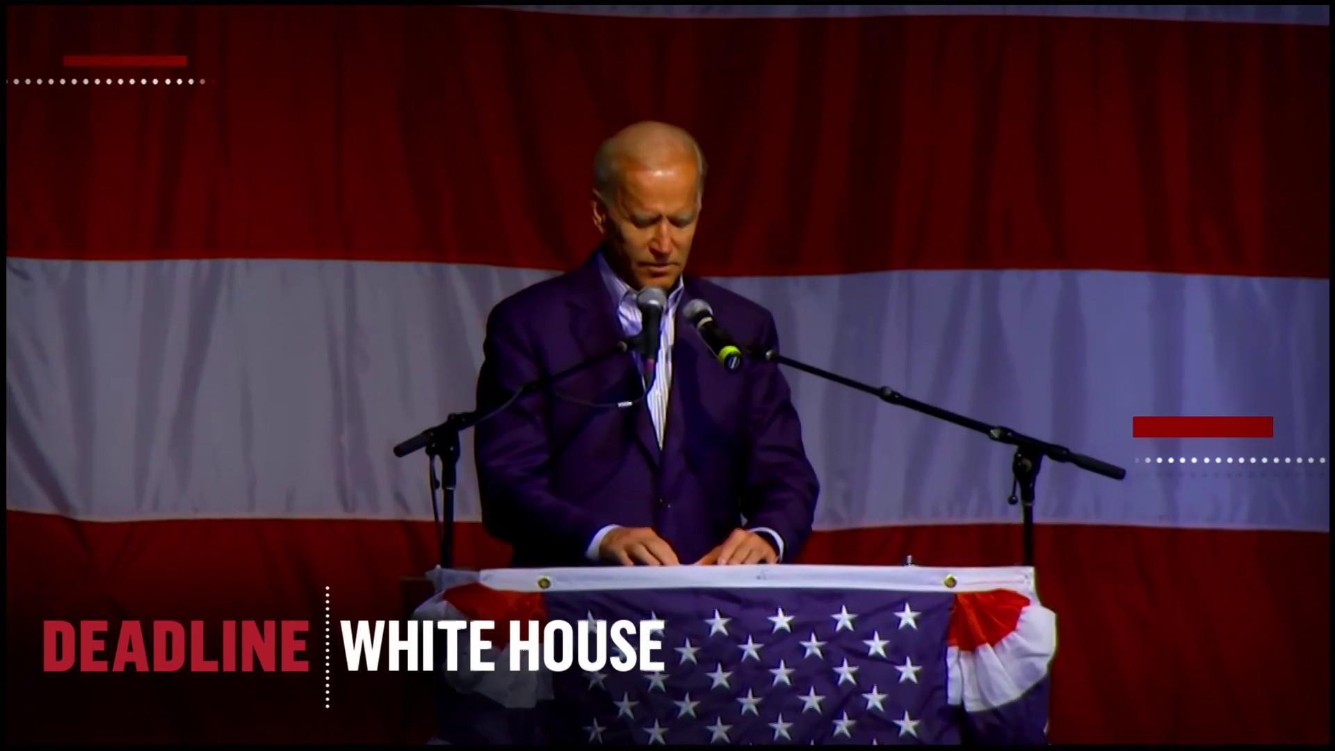 Biden advisors say the former Vice President faces an 'unfair double standard'