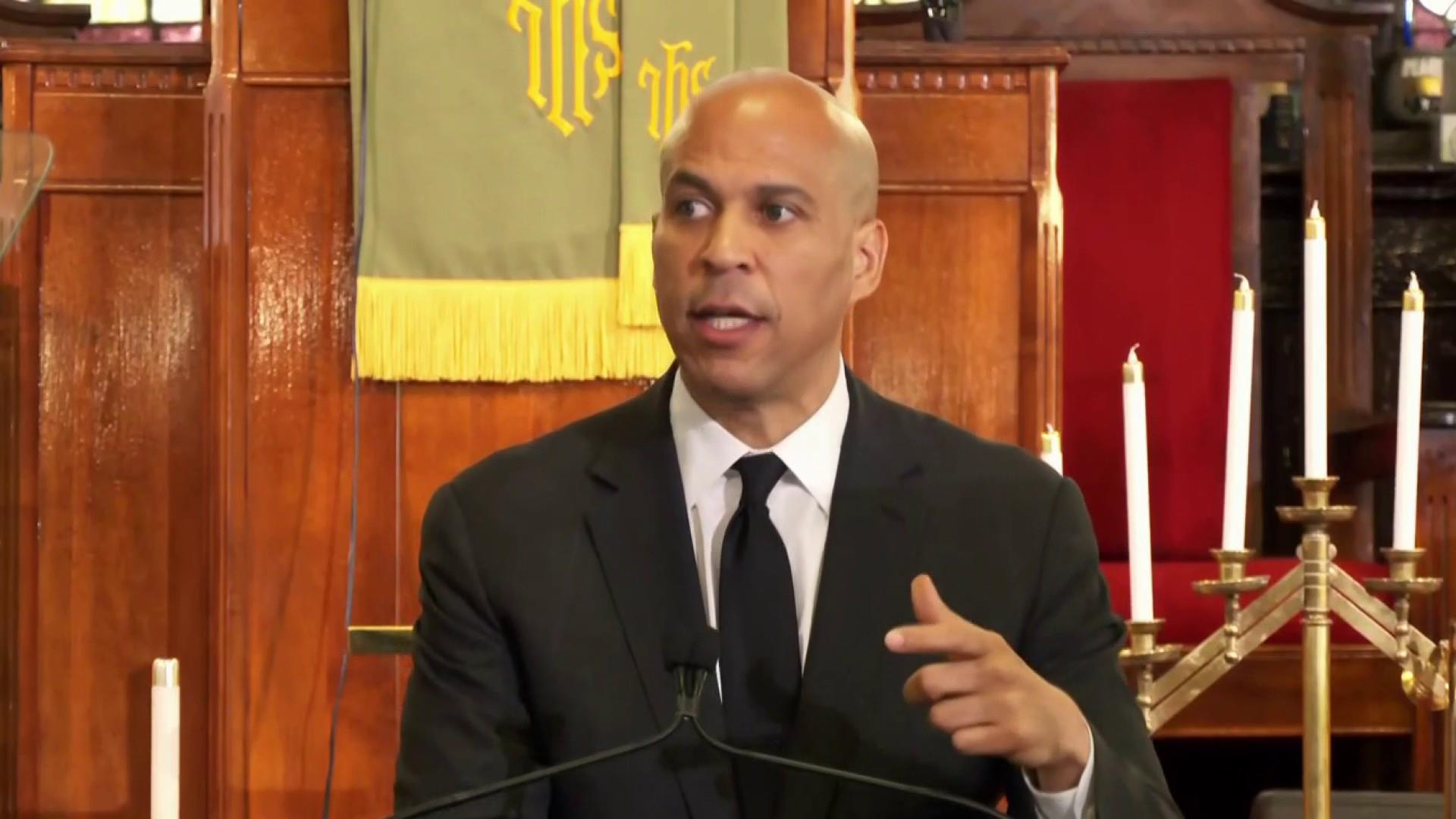 Sen. Booker:  White supremacy is perpetrated by a 'wilful ignorance or dangerous tolerance'