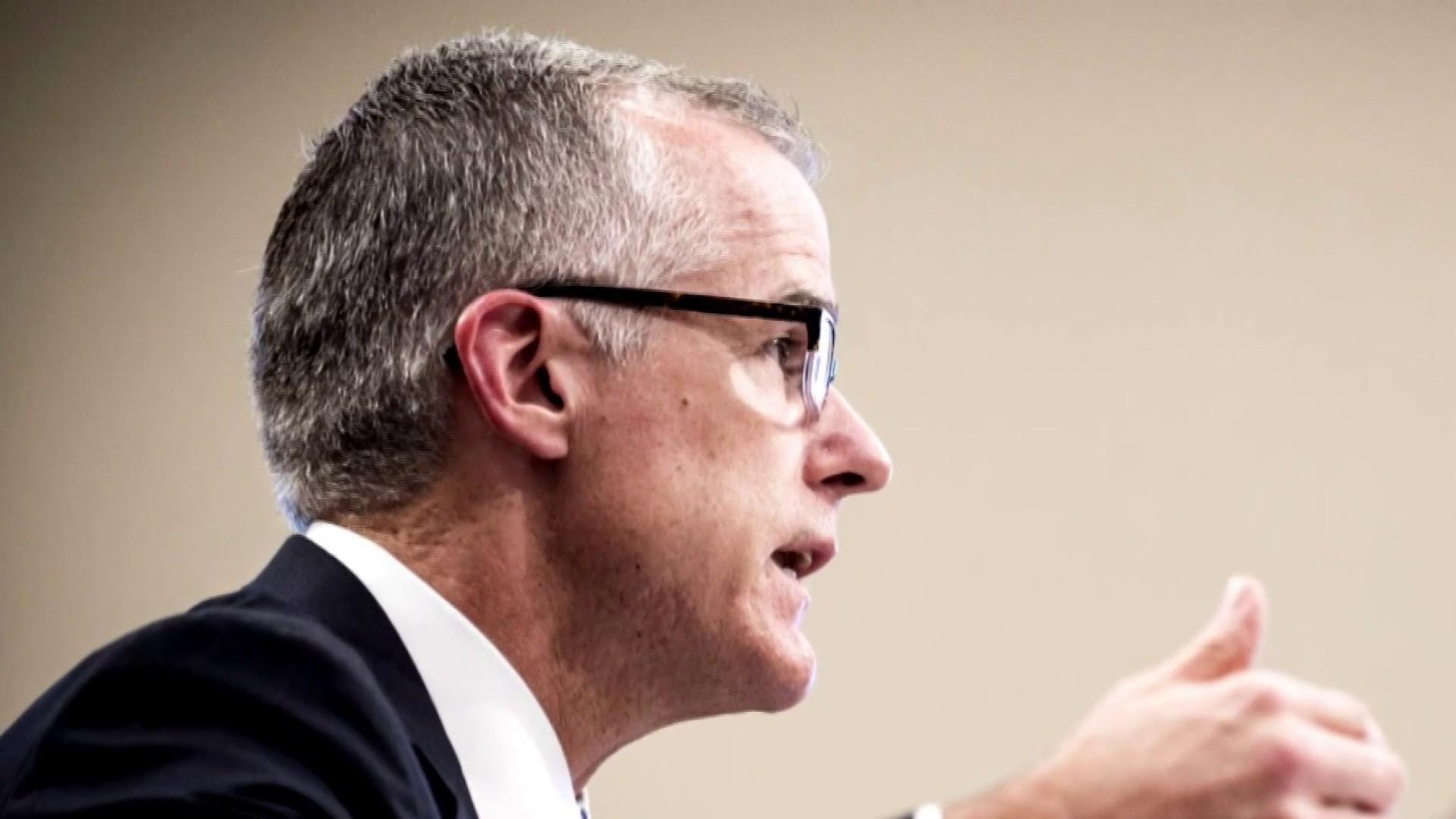 NEWS: Former acting FBI Director McCabe sues the Justice Department