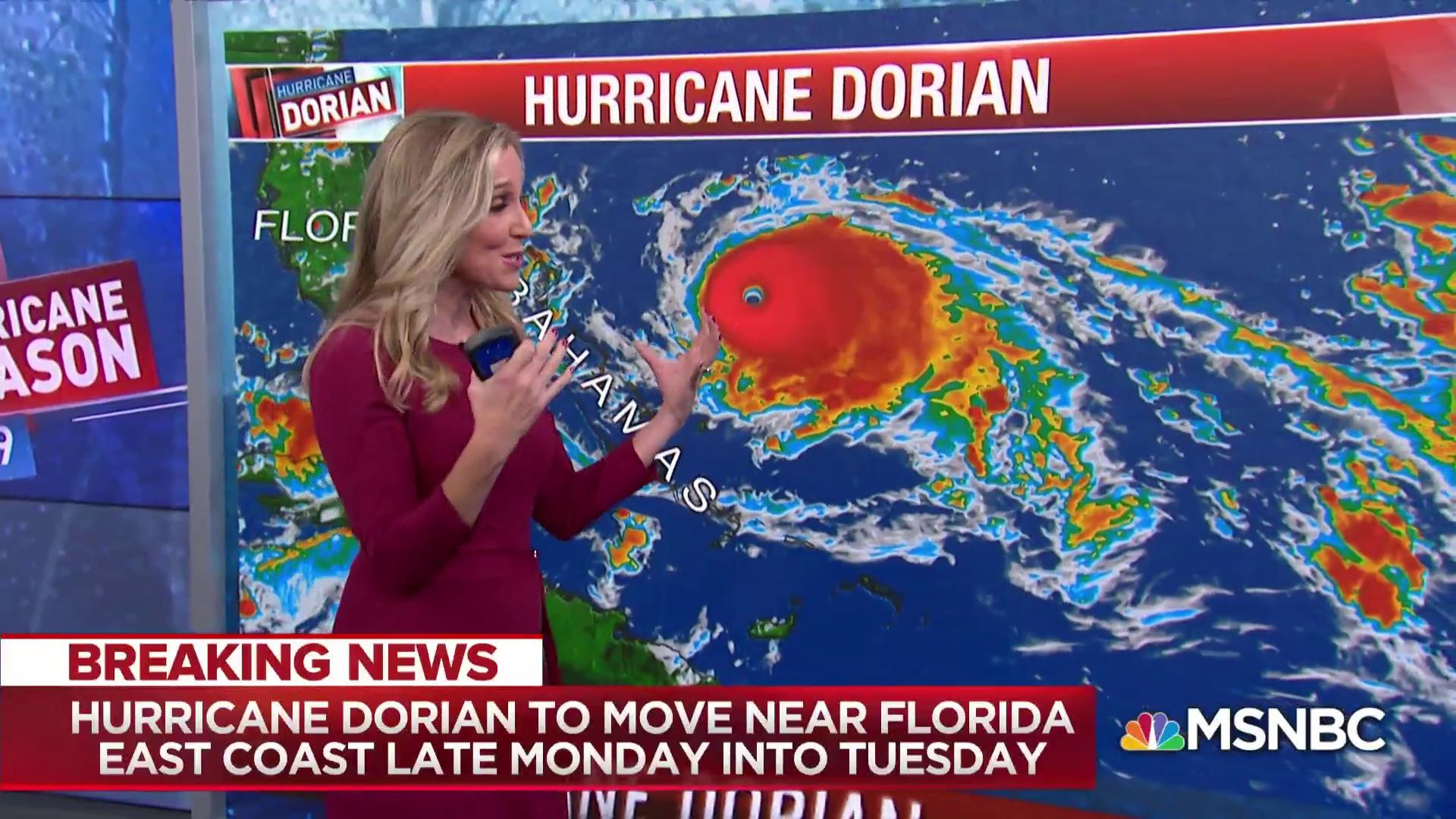 Hurricane Dorian update: Category 4 hurricane expected to slow down as it approaches Bahamas, Atlantic coast