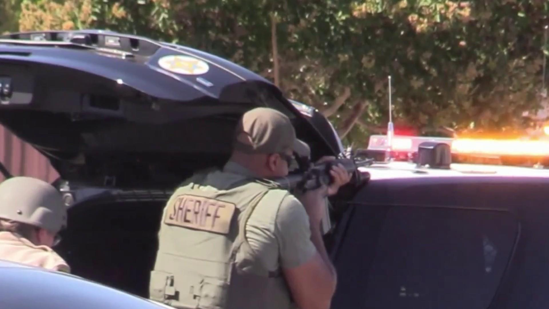 L.A. sheriff's deputy admits to fabricating sniper story