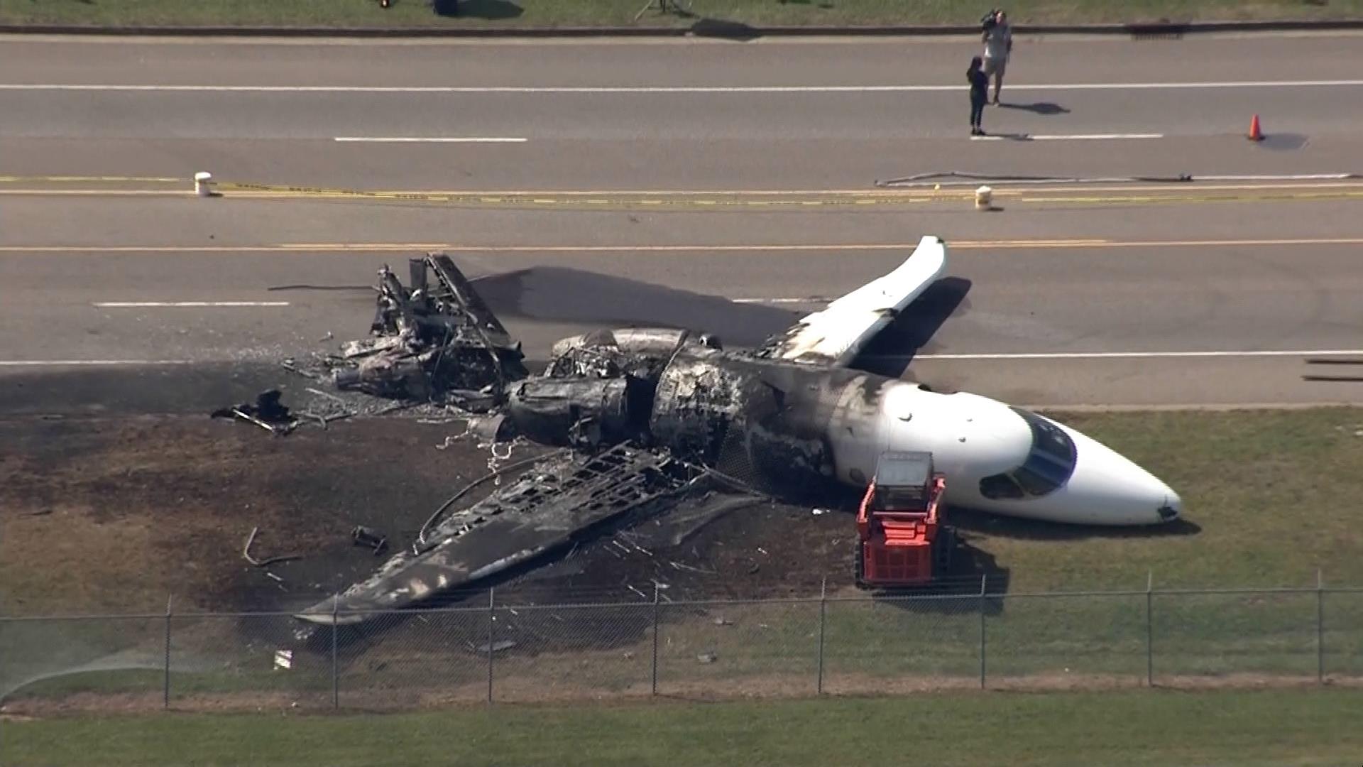 Dale Earnhardt Jr.'s plane bounced multiple times, went off runway during crash