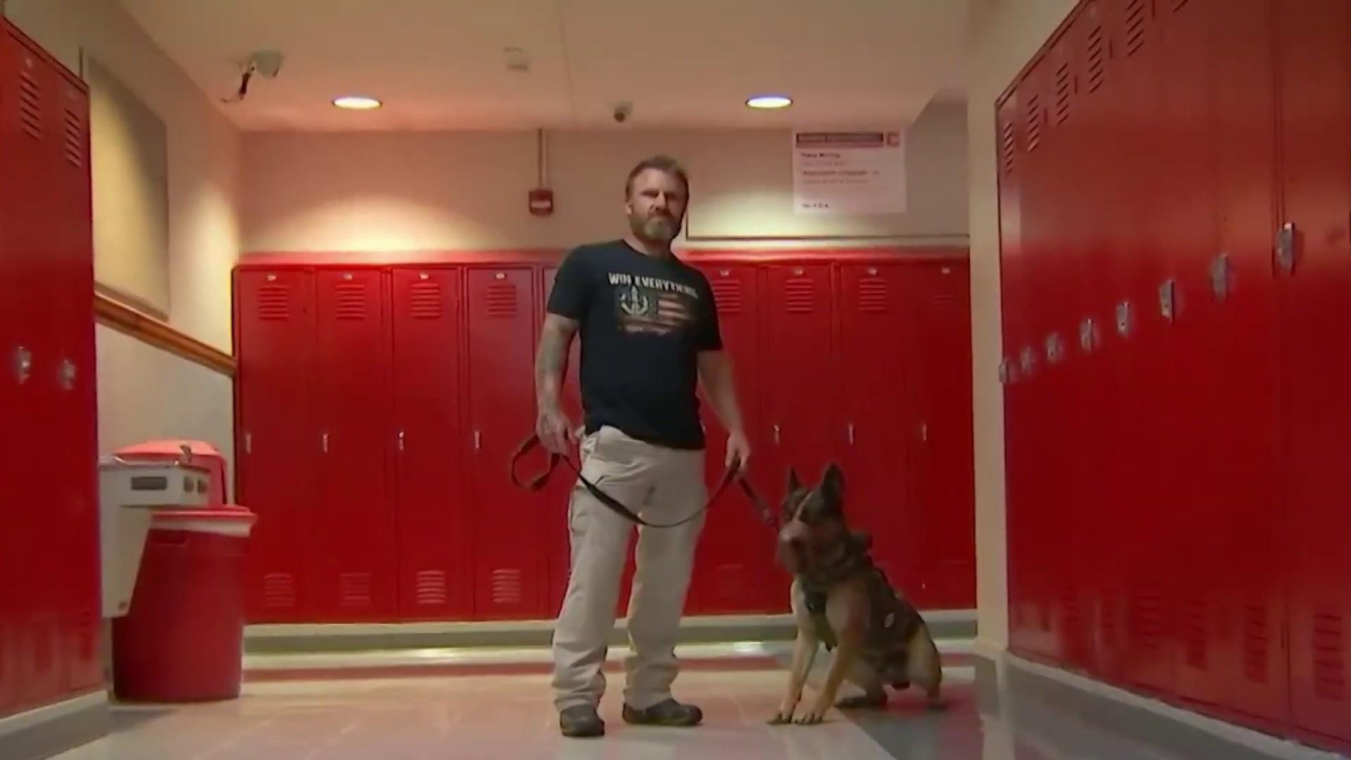 Former Navy SEAL training dogs to combat school shootings