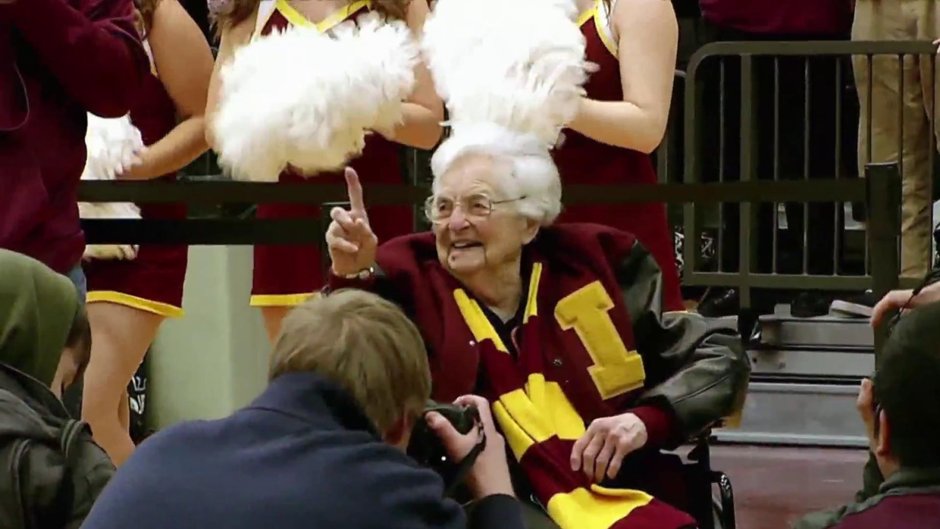 March Madness star Sister Jean celebrates 100th birthday