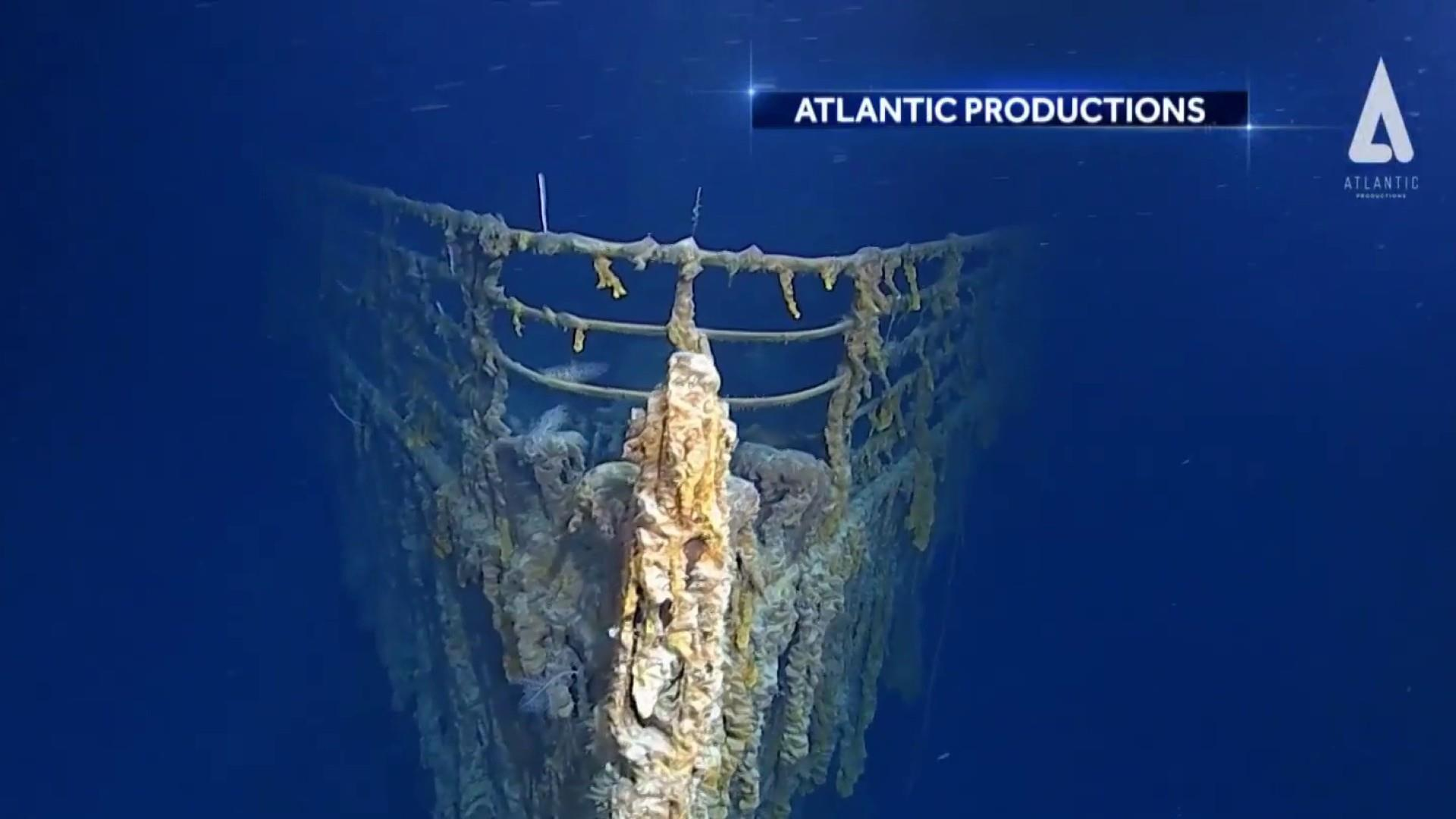 First images of Titanic wreckage in more than 10 years show rapid erosion