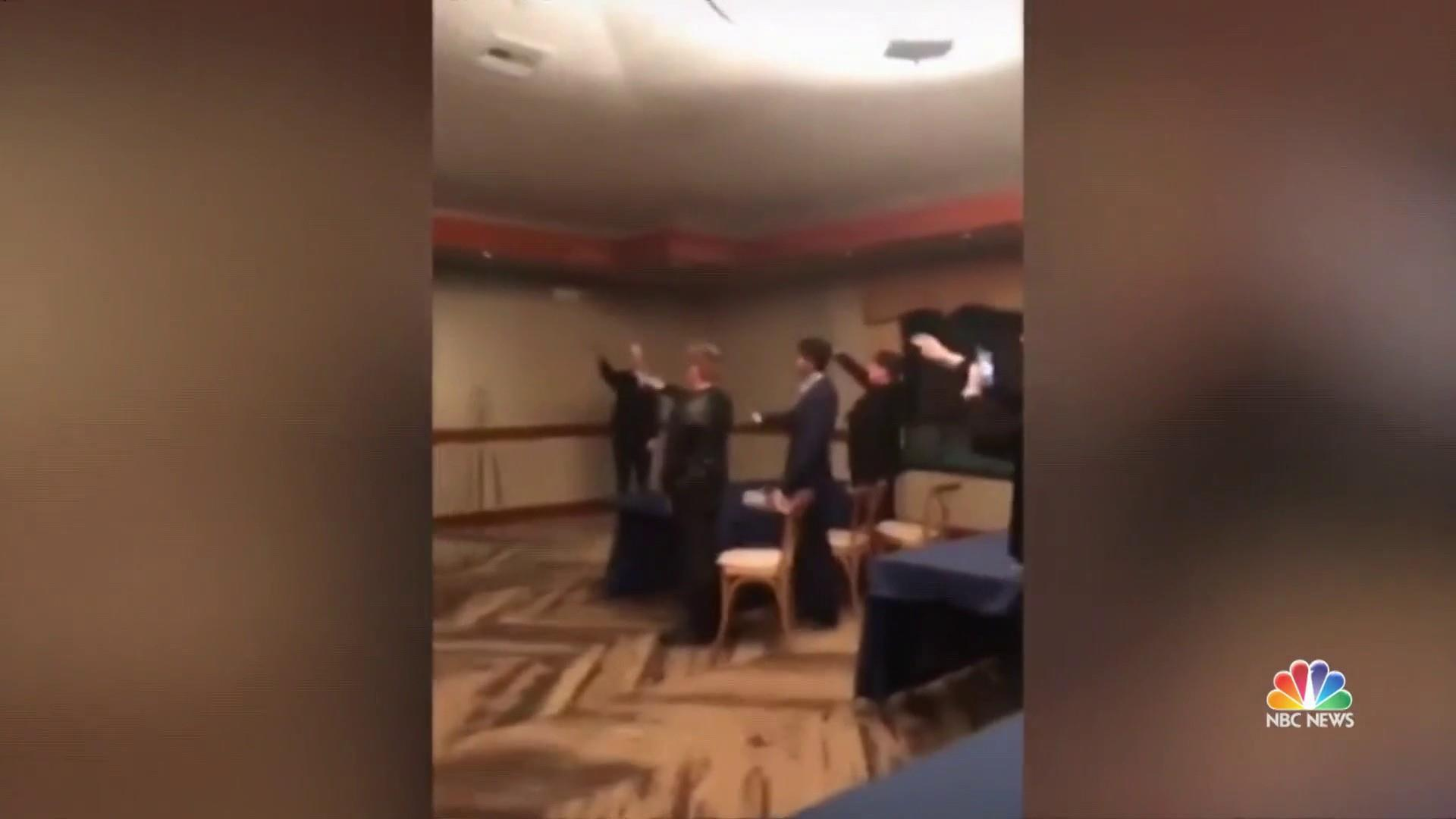 California high school students seen in video giving Nazi salute, singing Nazi song
