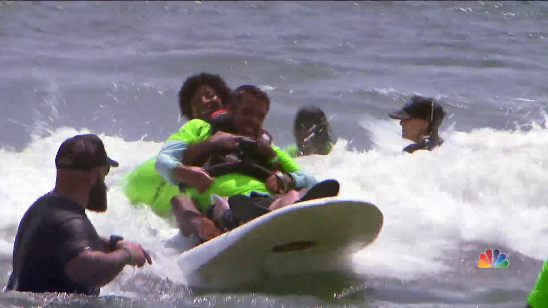 Surfing, skating and freedom: Non-profit helps athletes with disabilities find new thrills