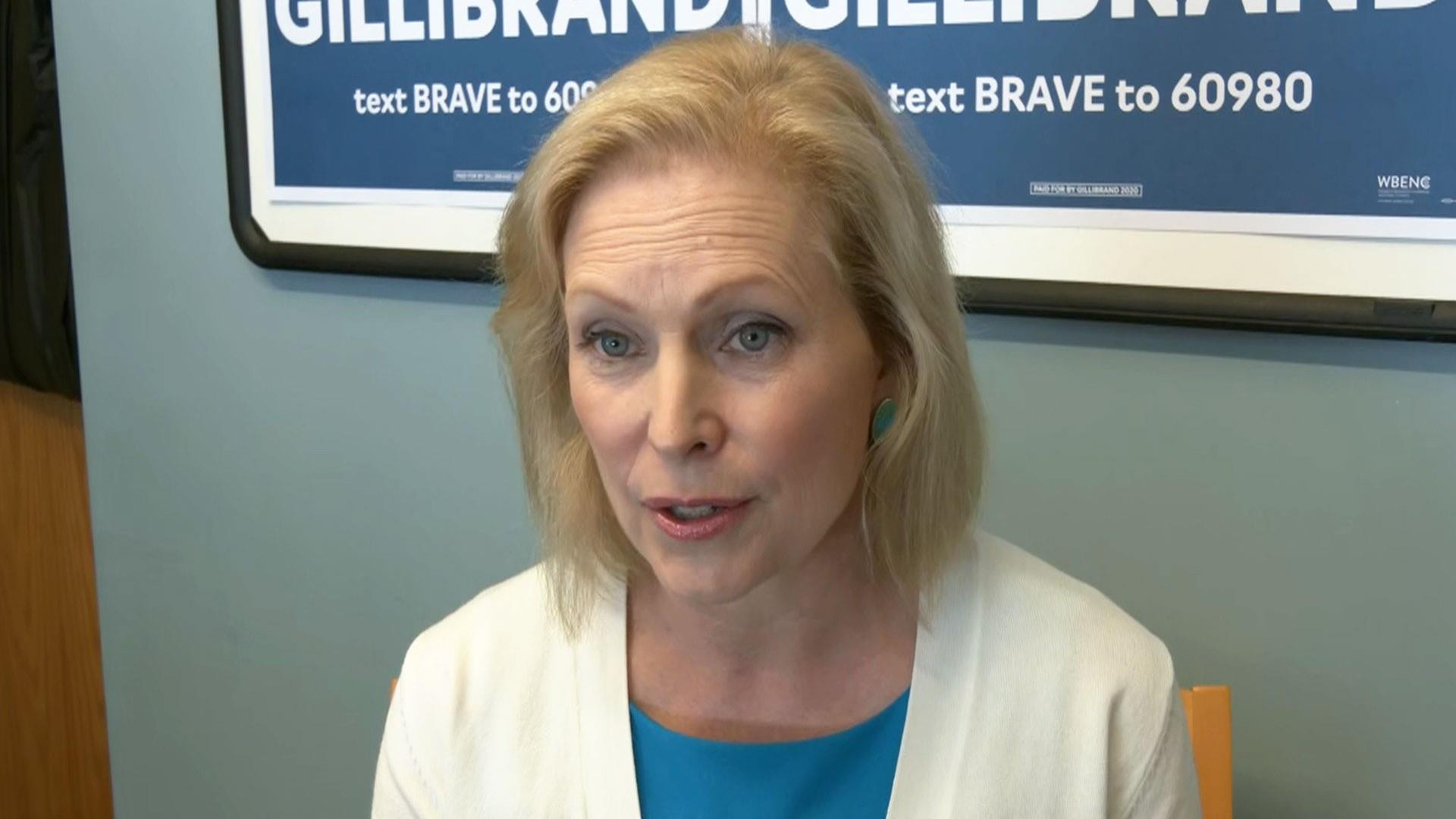 Kirsten Gillibrand talks opioid crisis and mental health in NBC News interview