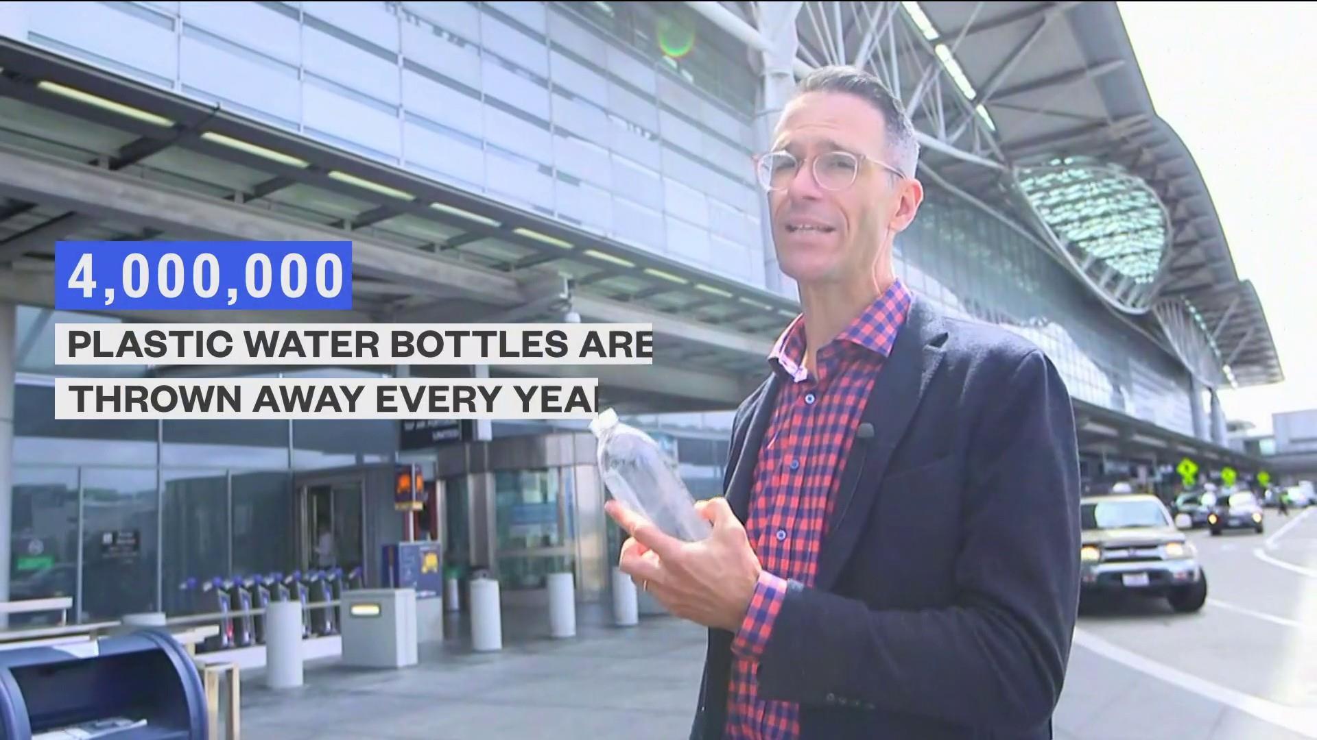 San Francisco airport bans single-use plastic bottles