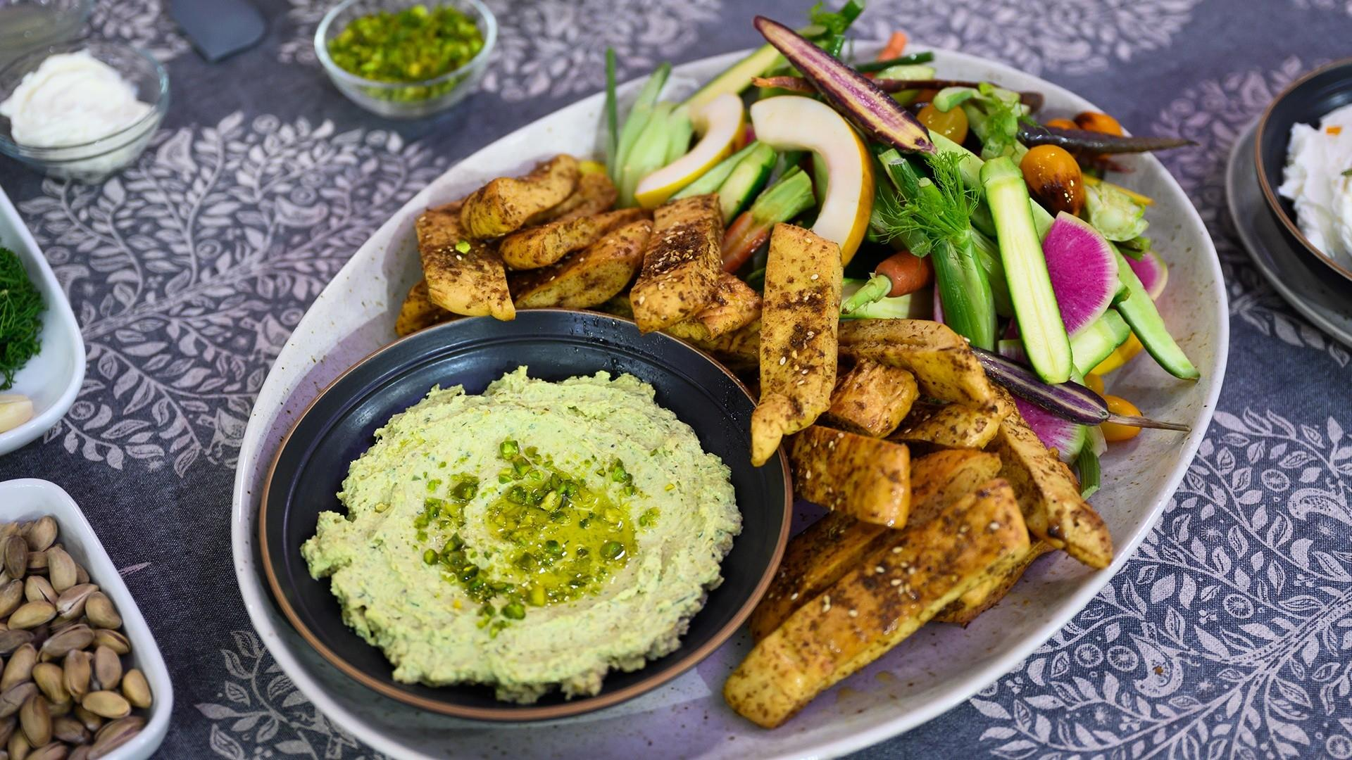 Middle Eastern-inspired recipes: Make chicken shawarma and feta dip